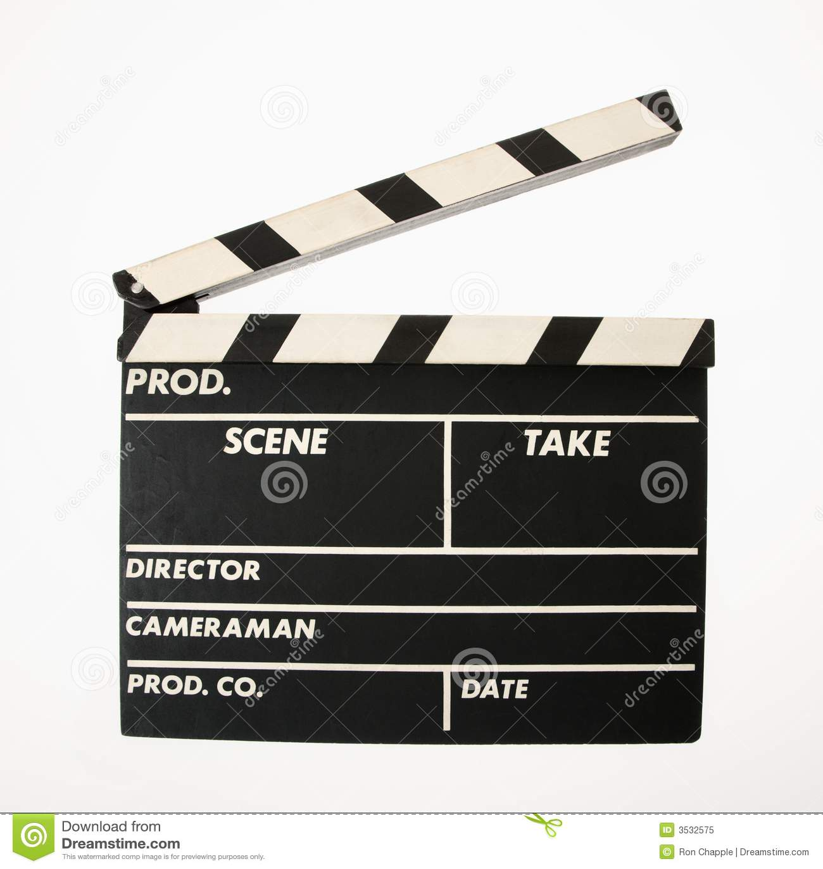 Tablilla de la película.