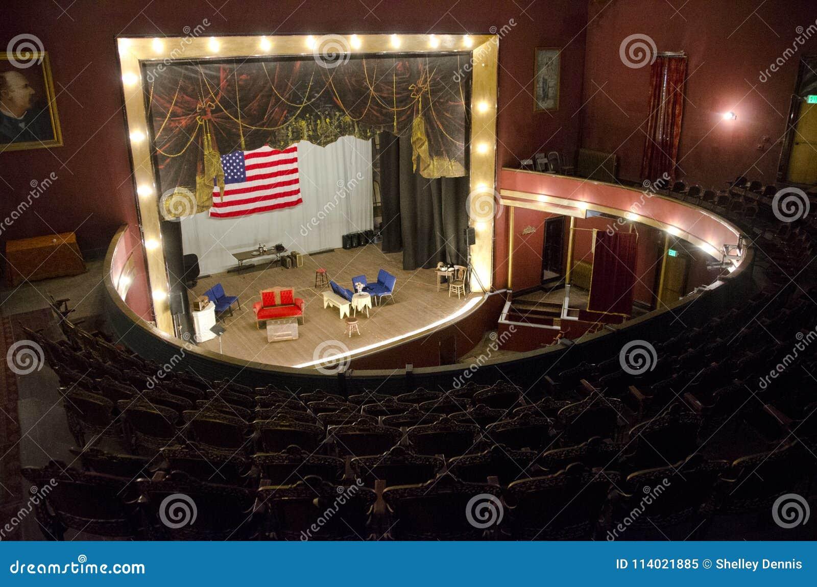 Tabor operahus i Leadville, Colorado