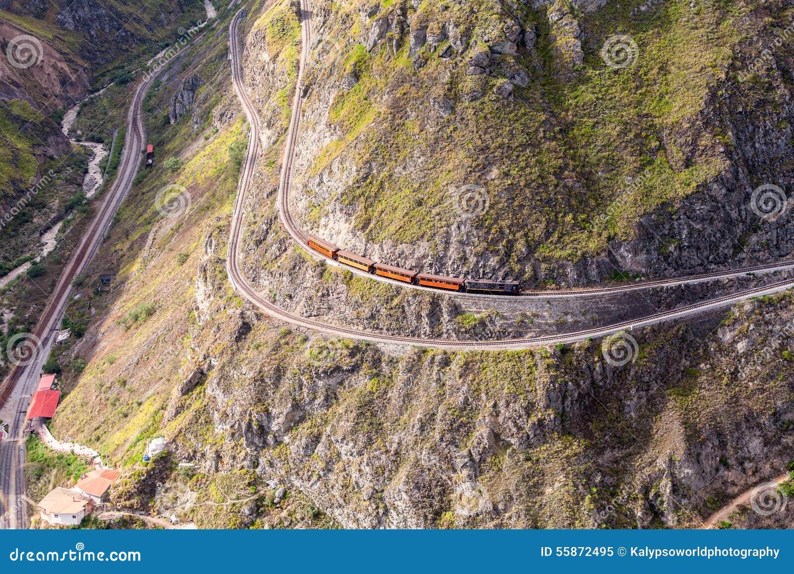 Taborowa przejażdżka, diabła nos, Nariz Del Diablo, Ekwador