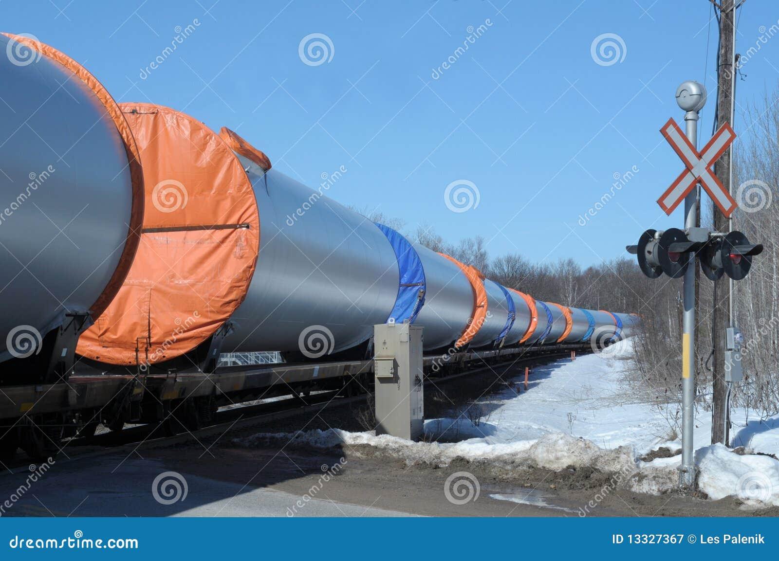 Taborowy rurociąg odtransportowanie