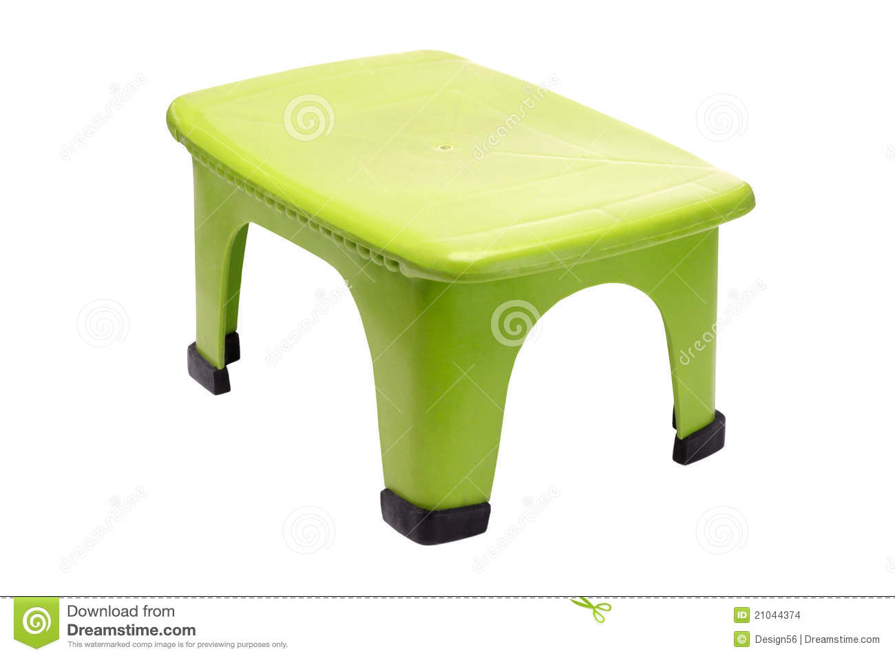 tabouret en plastique vert photo stock image du simple 21044374. Black Bedroom Furniture Sets. Home Design Ideas