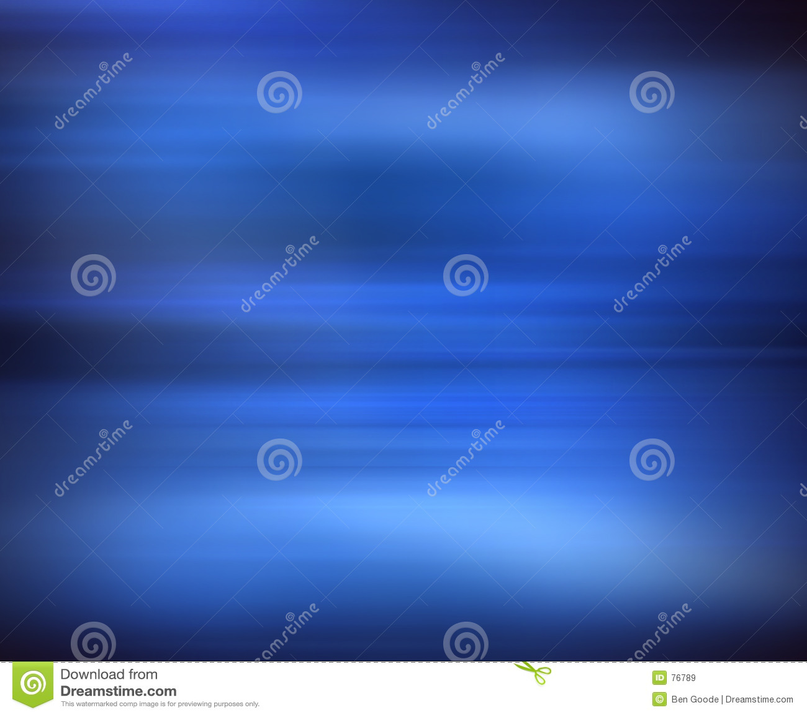 Tache floue bleue