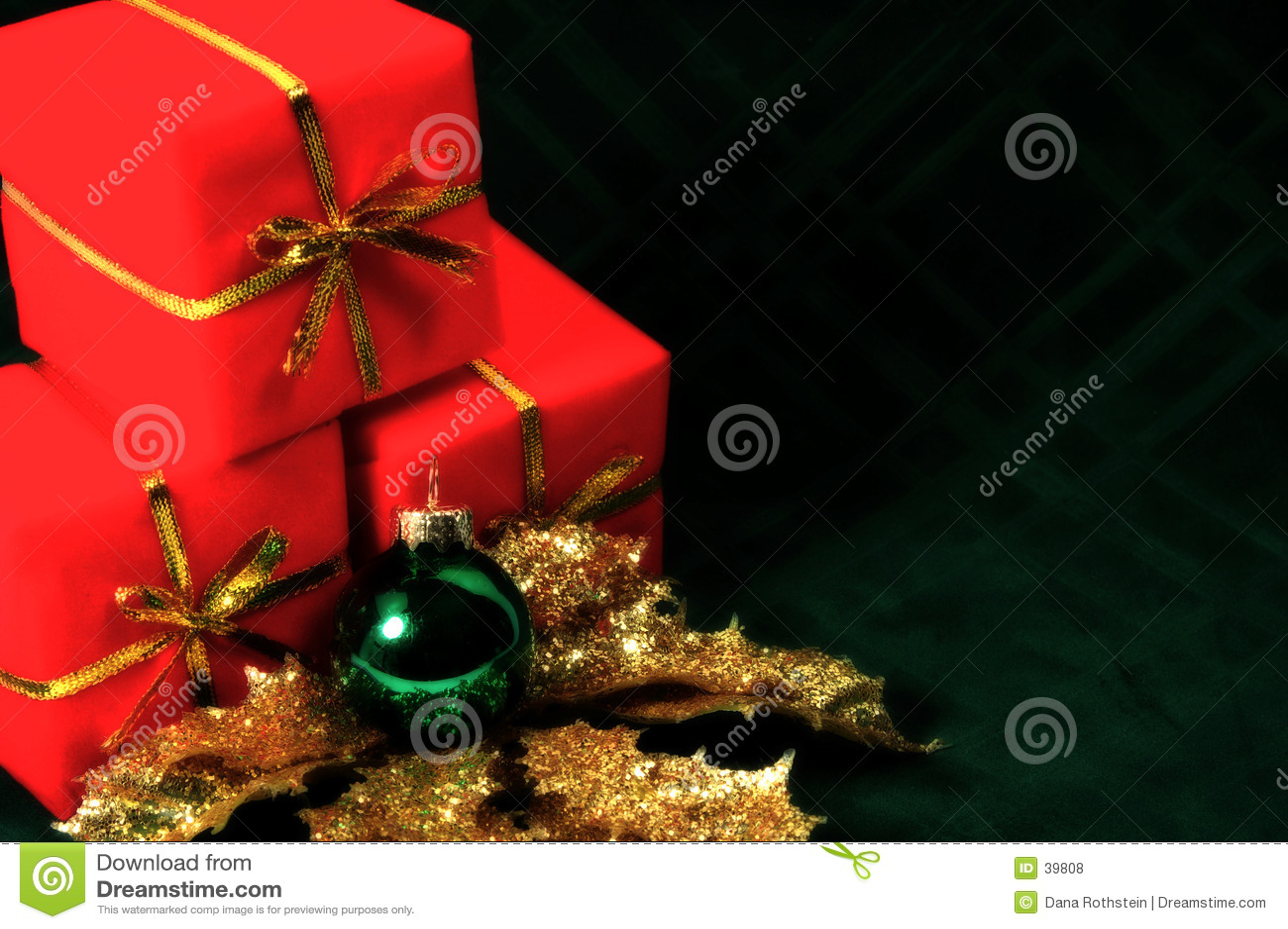 Tache floue de Noël