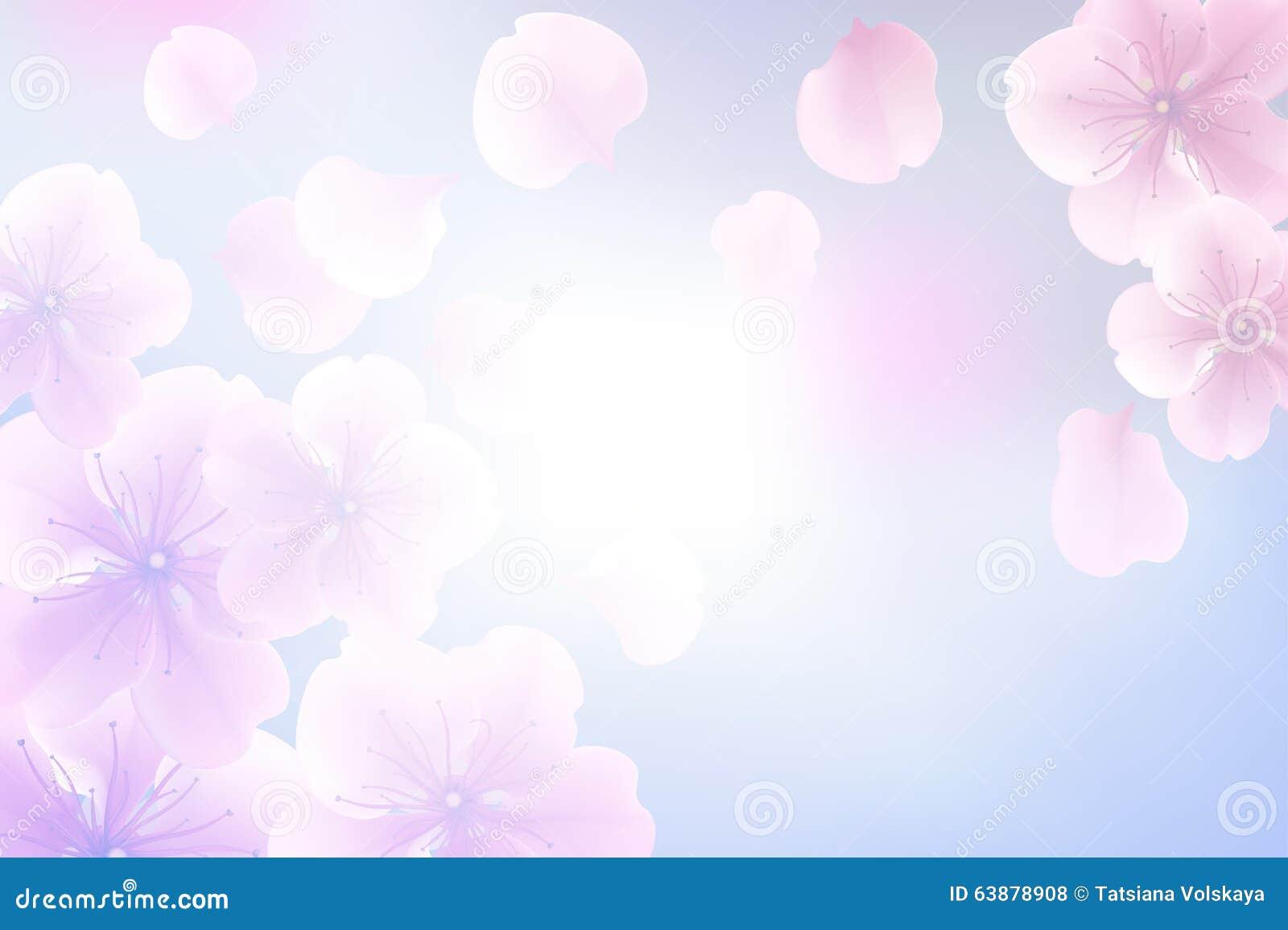 Tache Floue En Pastel De Fleur Abstraite Pour Le Concept De