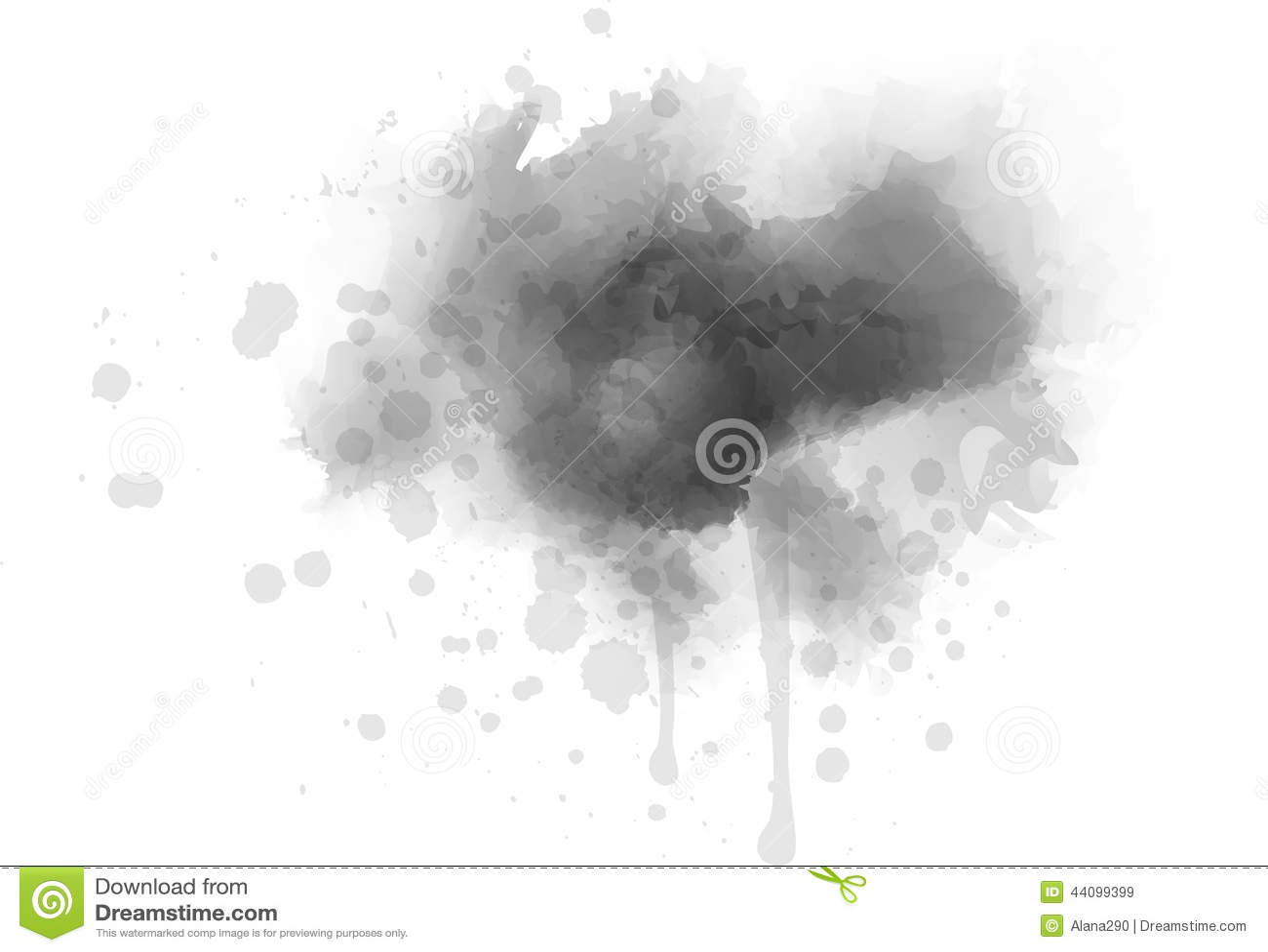 Tache Grise Illustration de Vecteur  Image 44099399