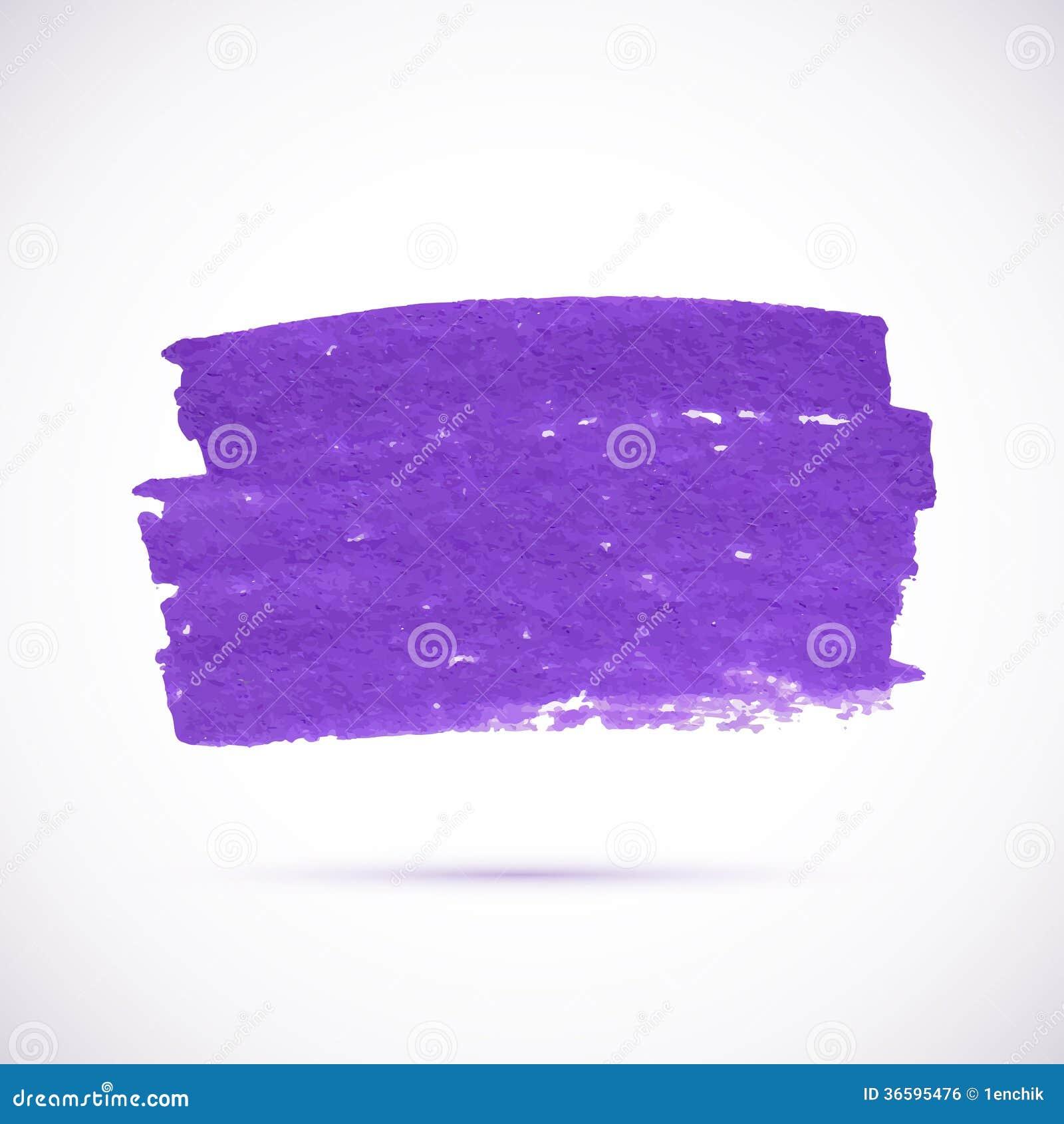 Tache violette de vecteur de texture de marqueur