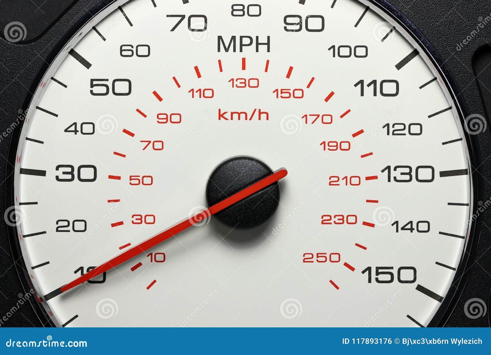 Tachymètre à 10 M/H