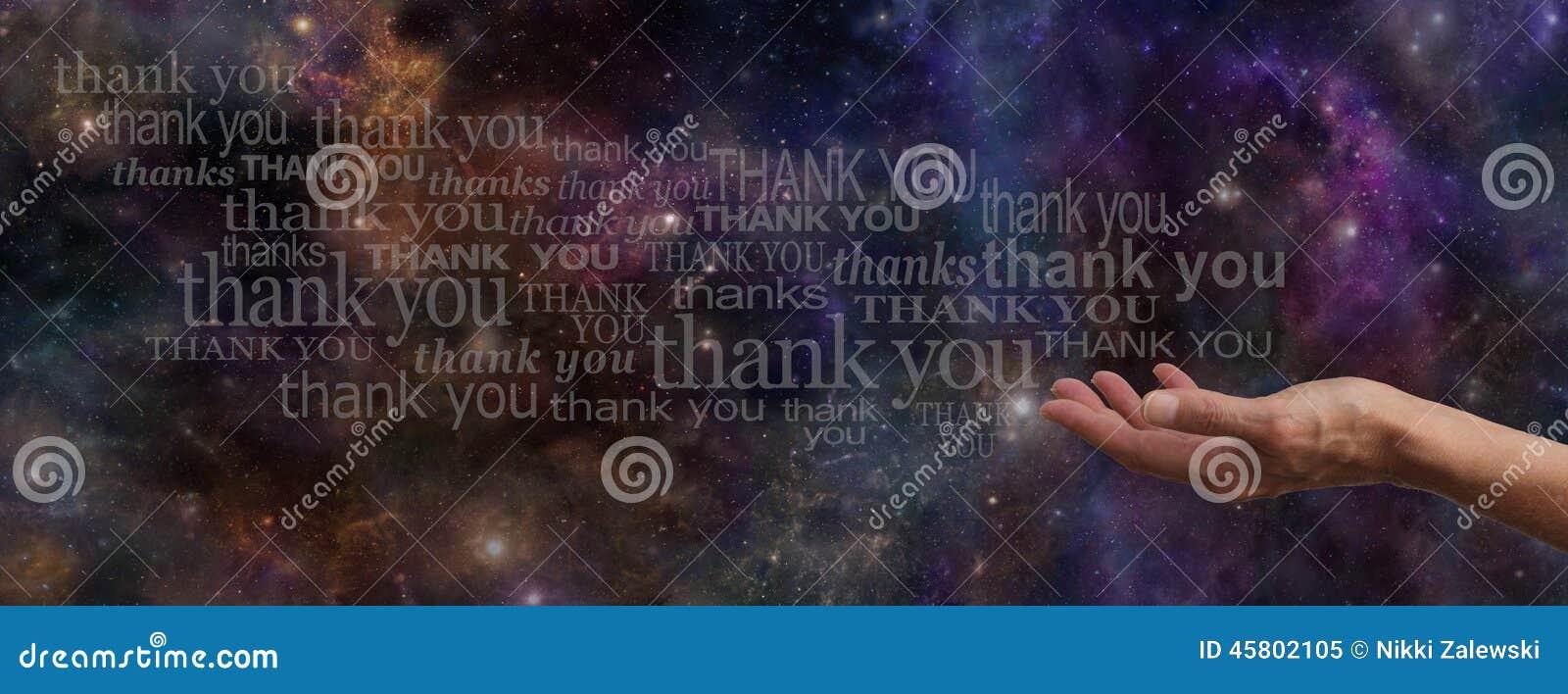 Tacka universumWebsitebanret