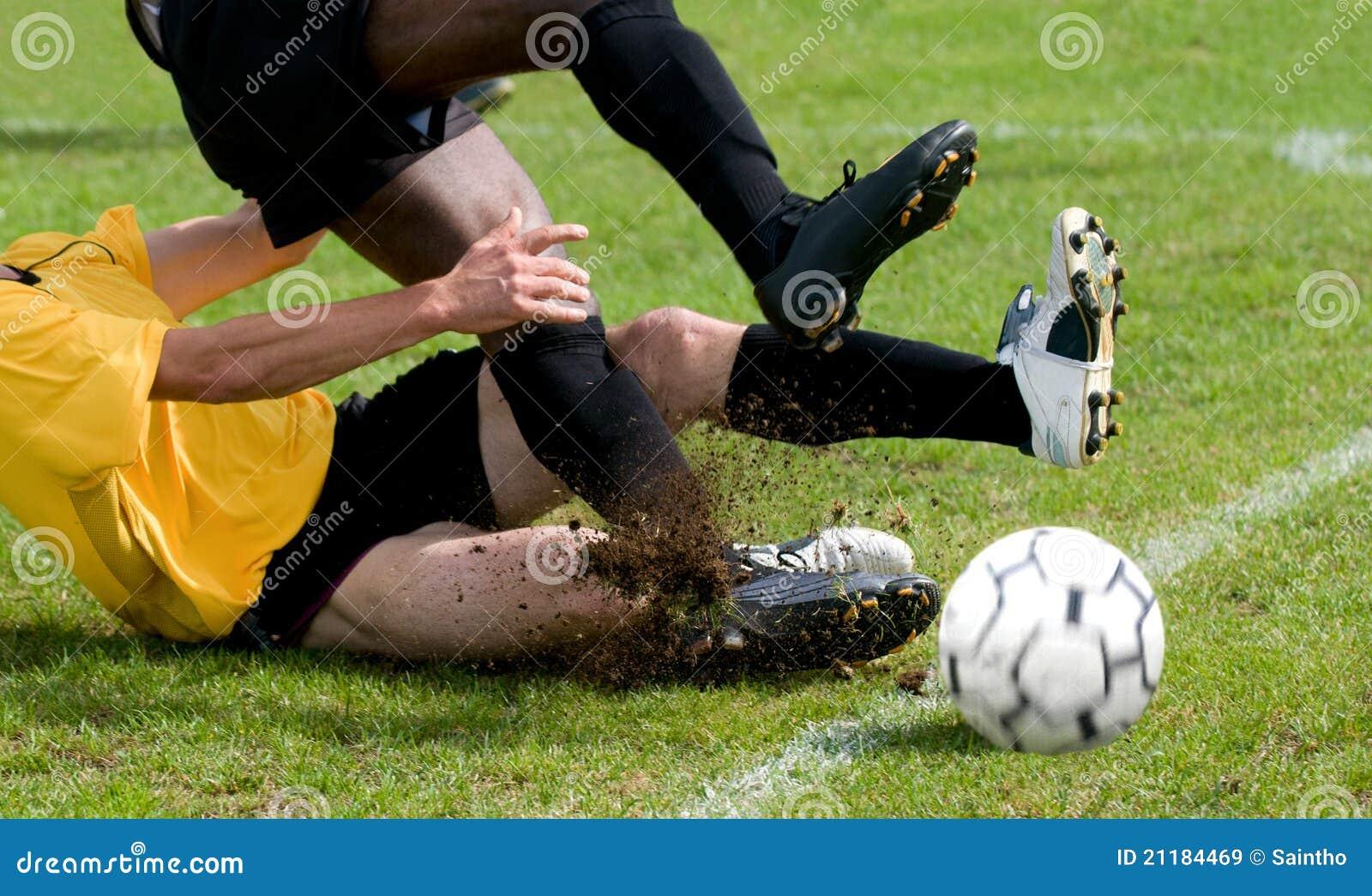 Tackle at football