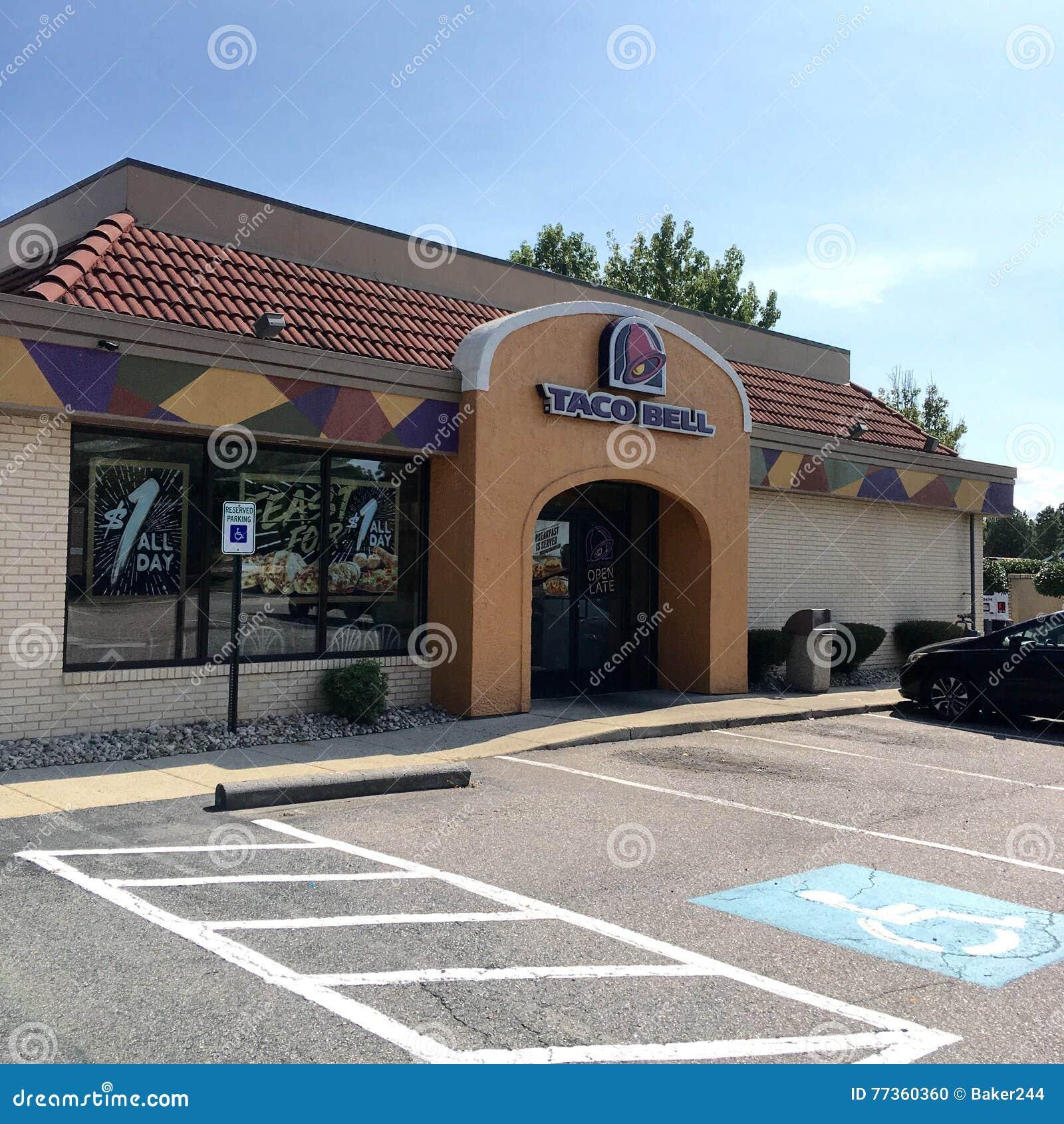 Taco Bell digiuna alimentari