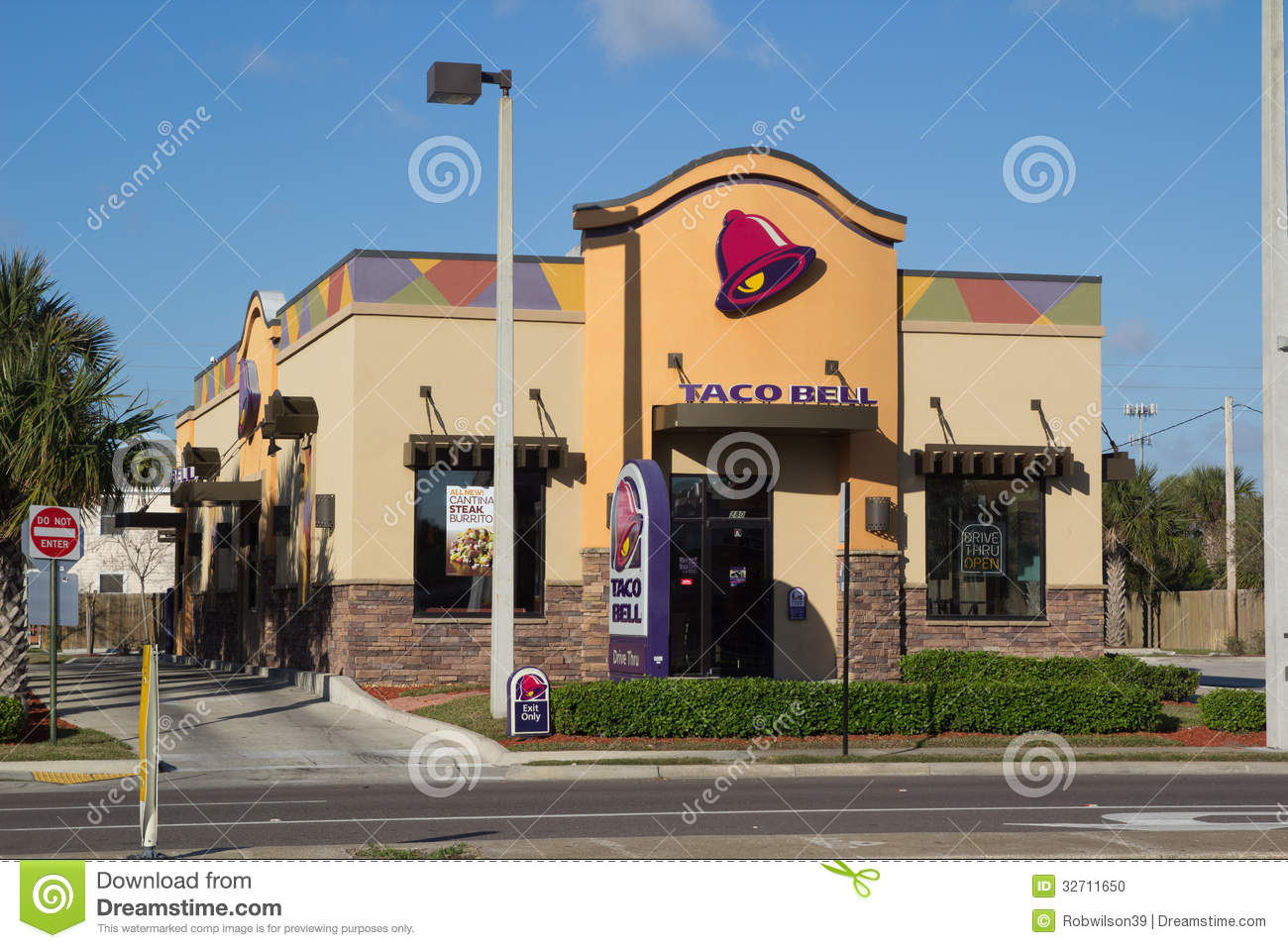 Taco bell editorial image