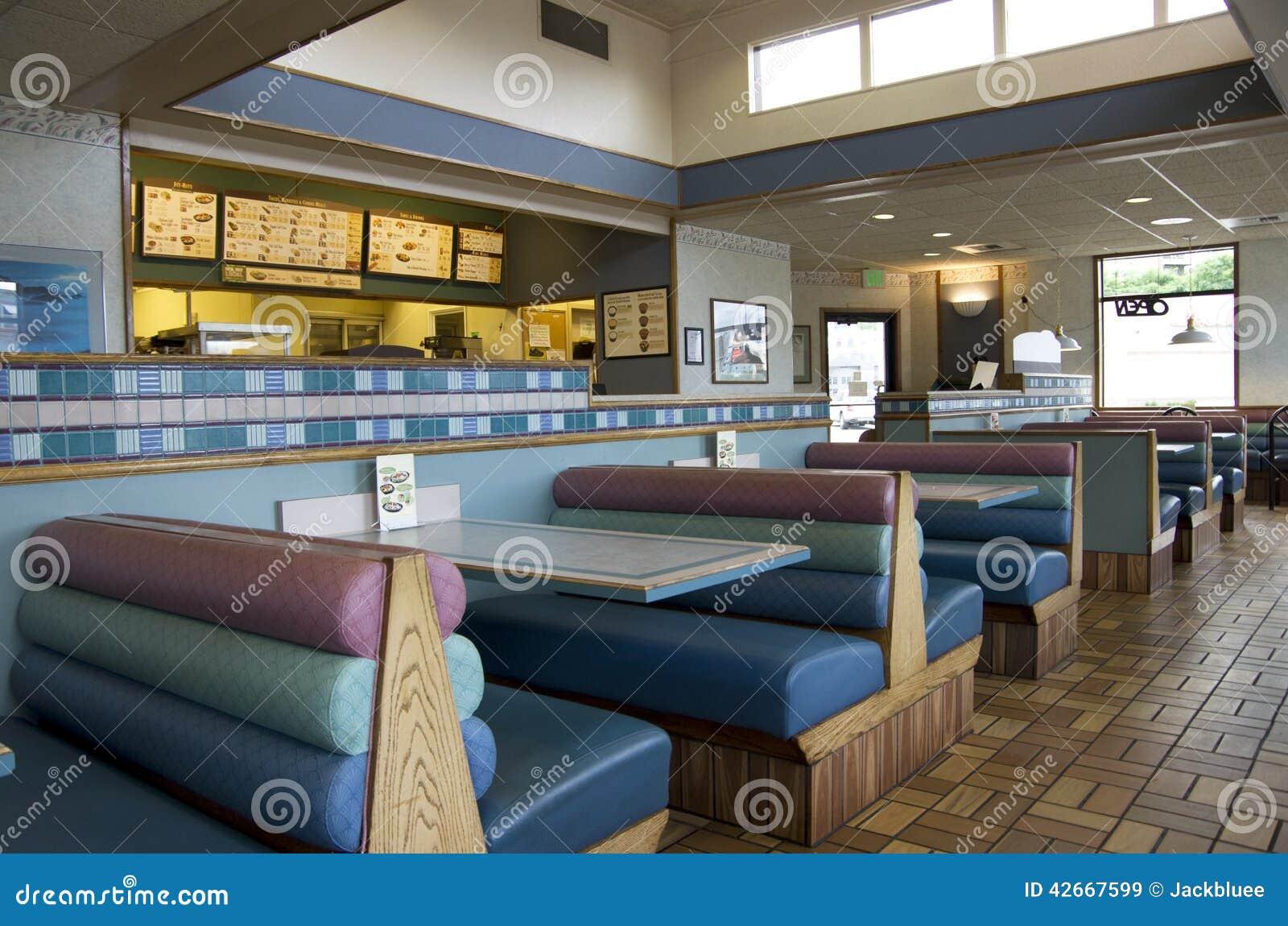 Taco bell restaurant stock photo image