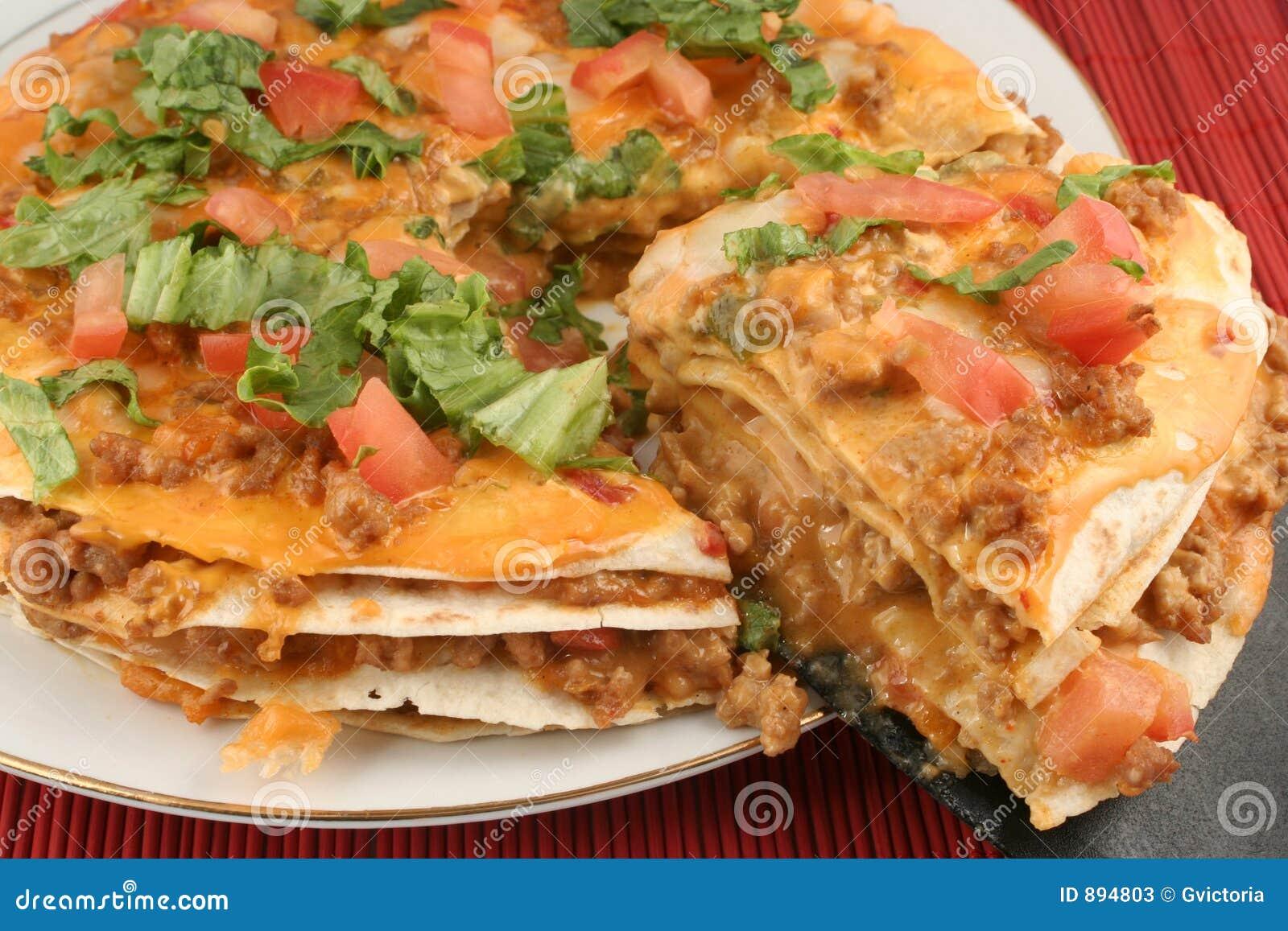 Taco pizzy