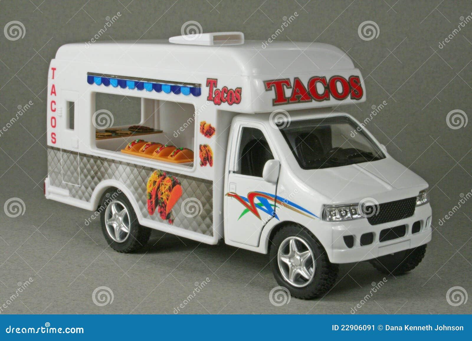 Taco Truck Stock Image Of Vendor Mexican Replica
