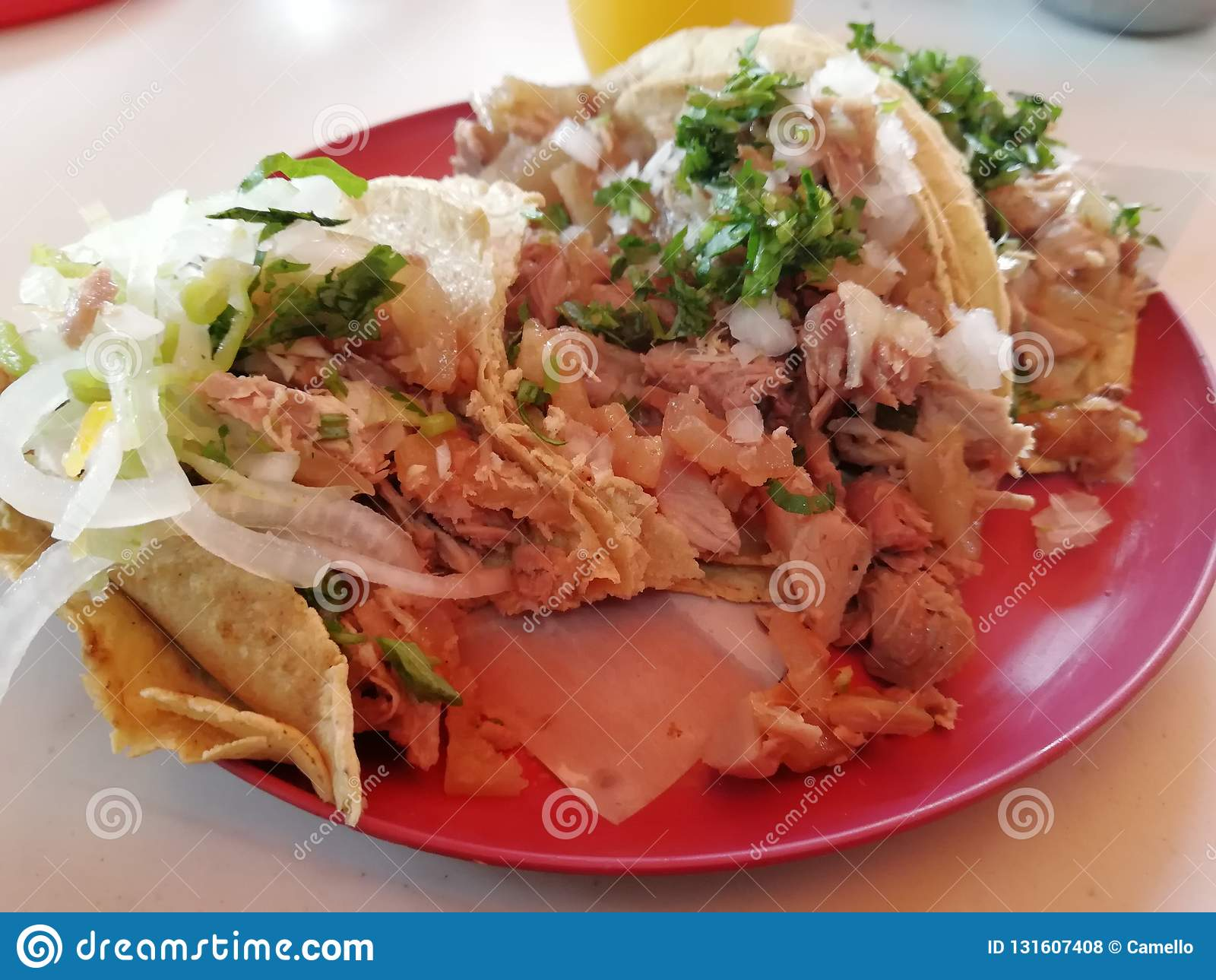 Tacos de carnitas Meat de Tacos