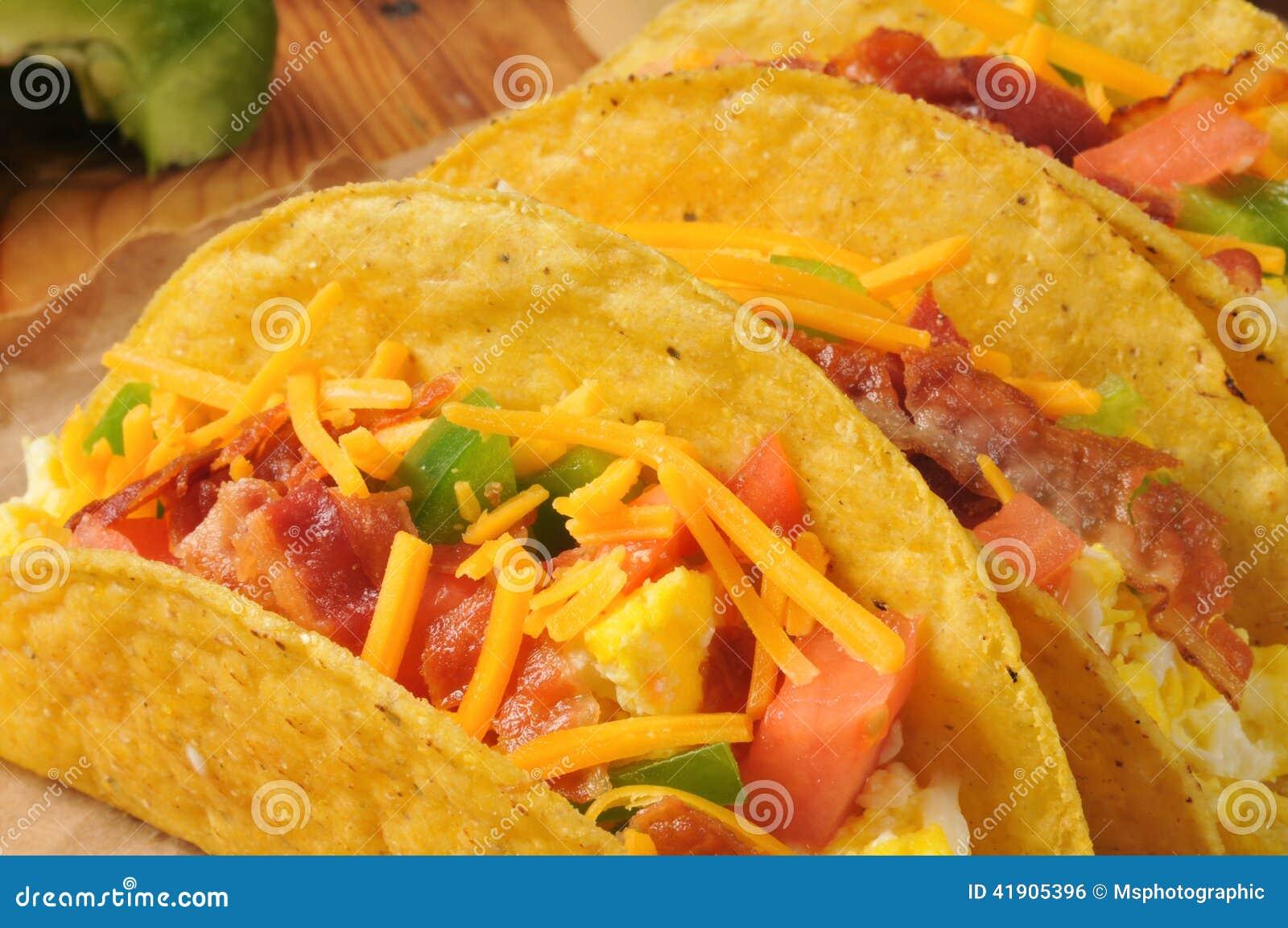 Tacos do café da manhã