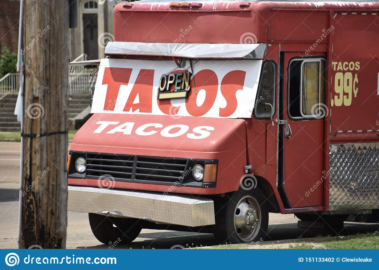 Tacos Food Truck Stock Photo Image Of Dish Diner Cuisine 151133402