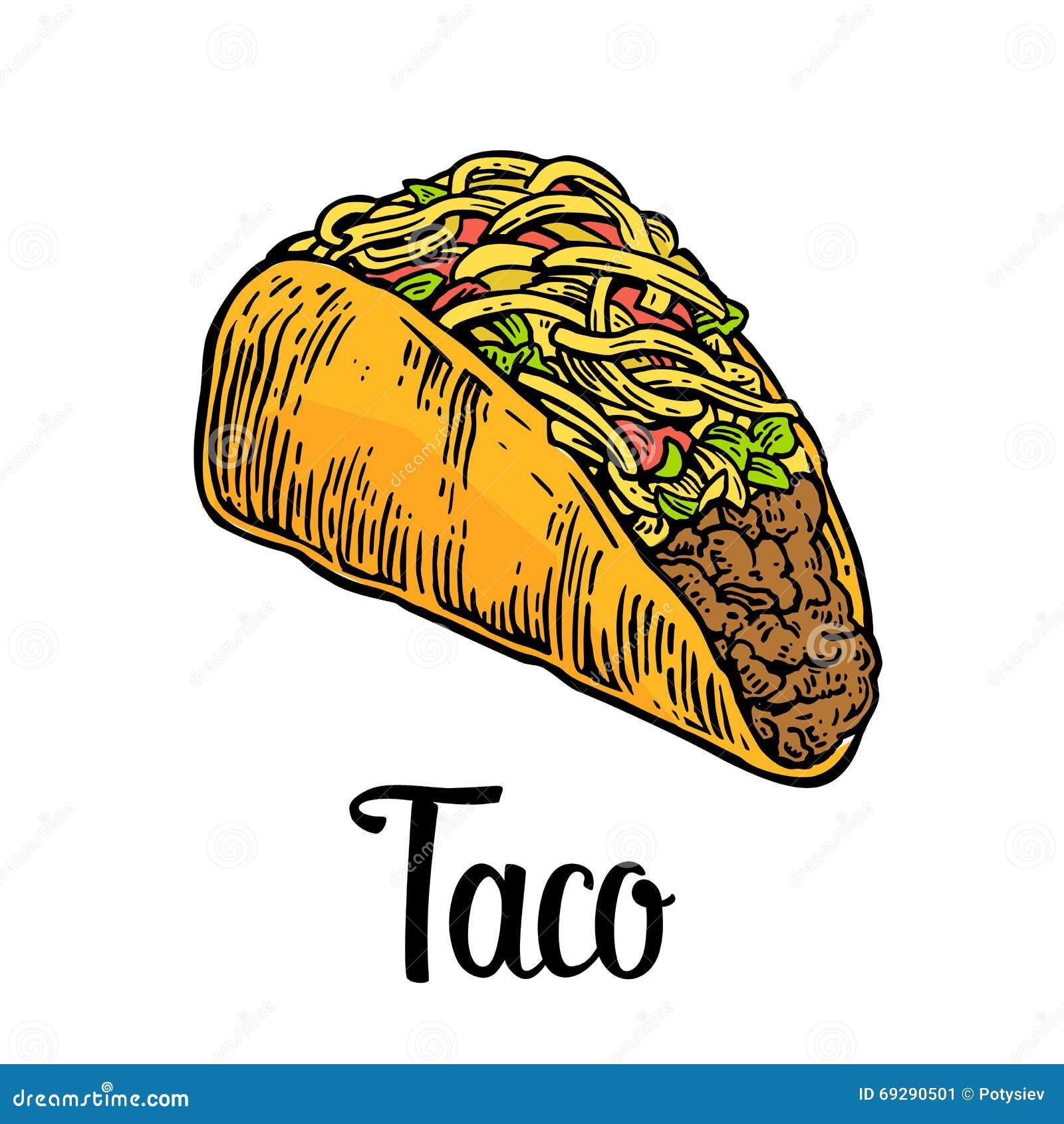 Tacos Mexican Fast Food Menu