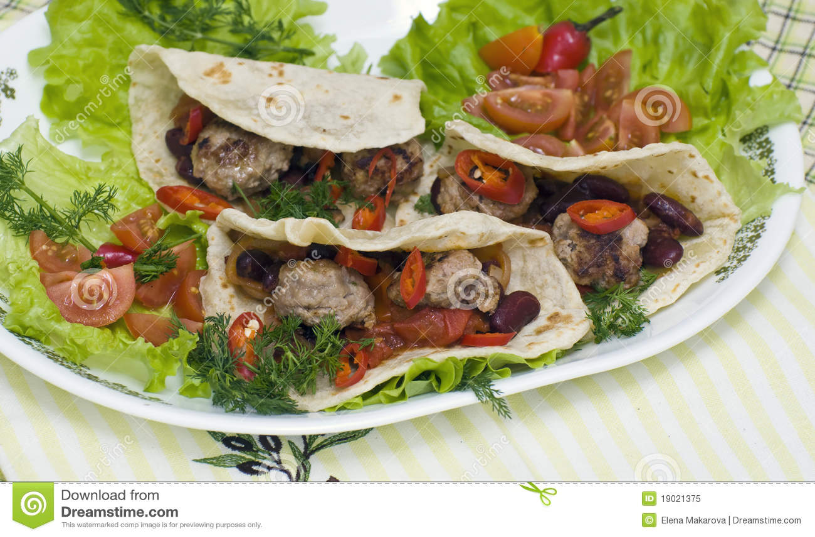 Tacos mexicano