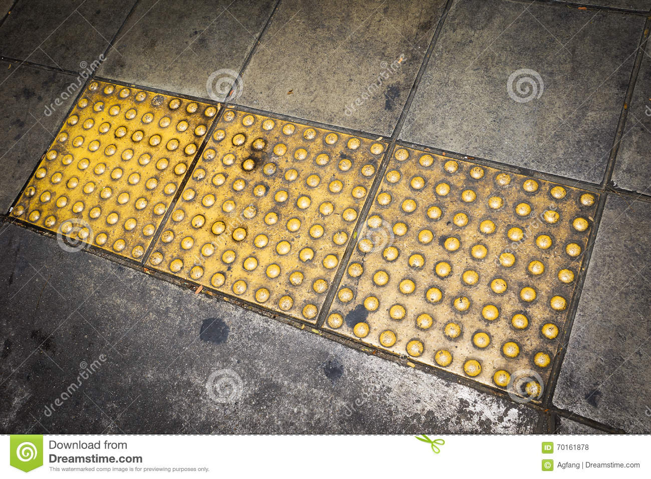 Tactile paving for blind handicap stock photo image 70161878 royalty free stock photo dailygadgetfo Image collections