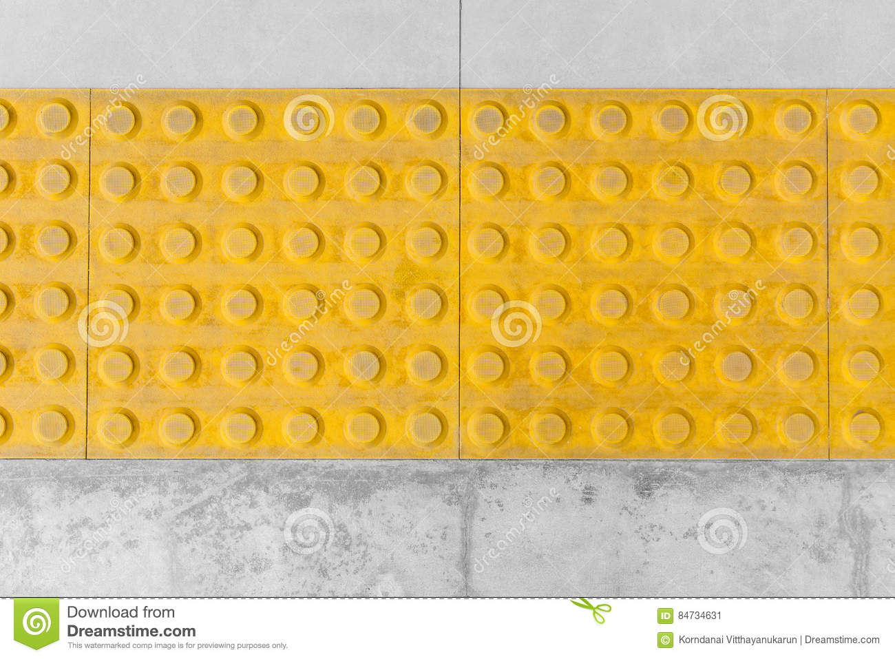 Tactile paving or tile footpath for blind stock image image royalty free stock photo dailygadgetfo Image collections