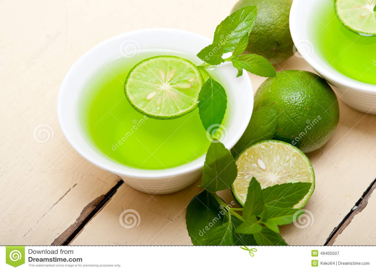 Download Tadelloser Infusionstee Tisane Mit Kalk Stockbild - Bild von saftig, limonade: 49405507