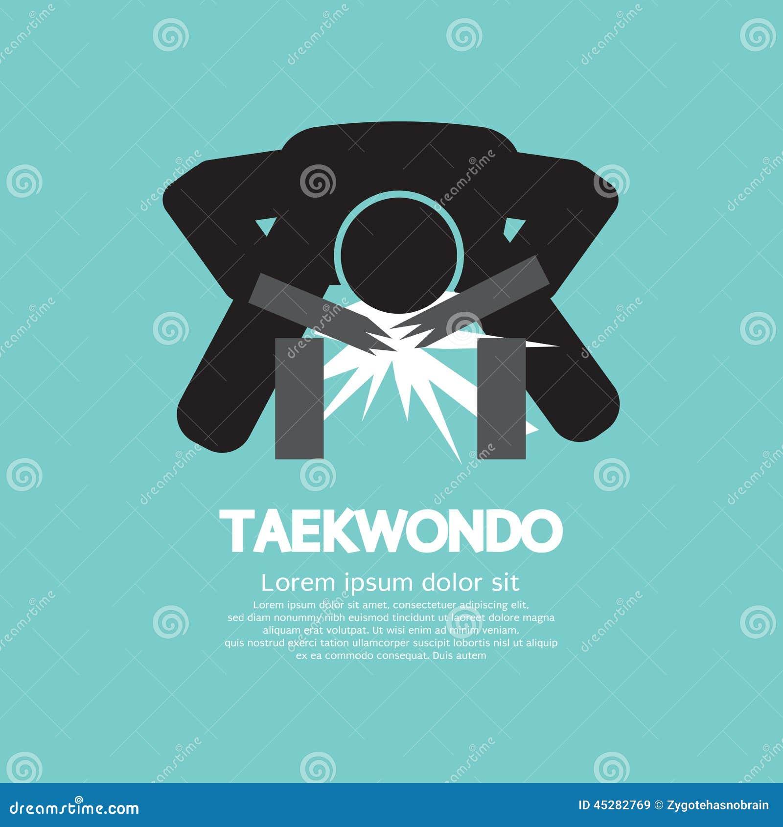 Taekwondo asian sport symbol stock vector illustration of taekwondo asian sport symbol biocorpaavc