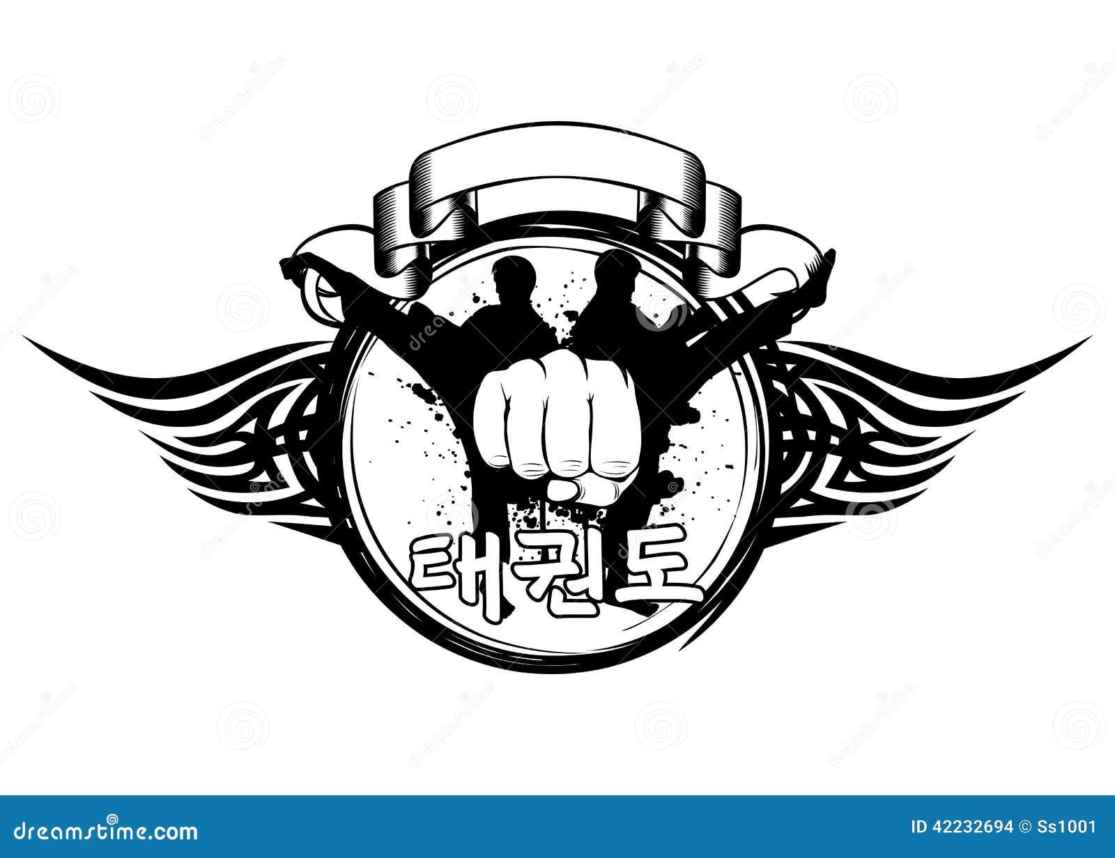 Taekwondo Stock Vector - Image: 42232694