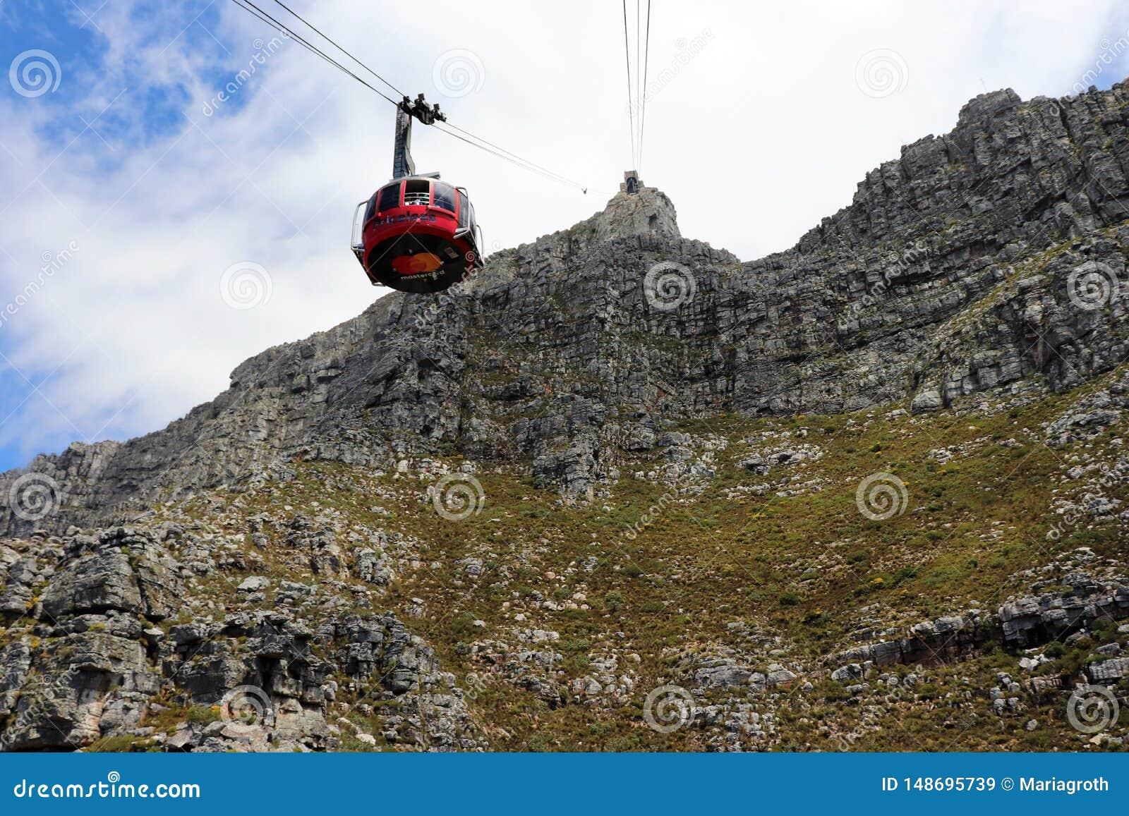 Tafelberg ist ein Hochebenenberg s?dlich von Cape Town