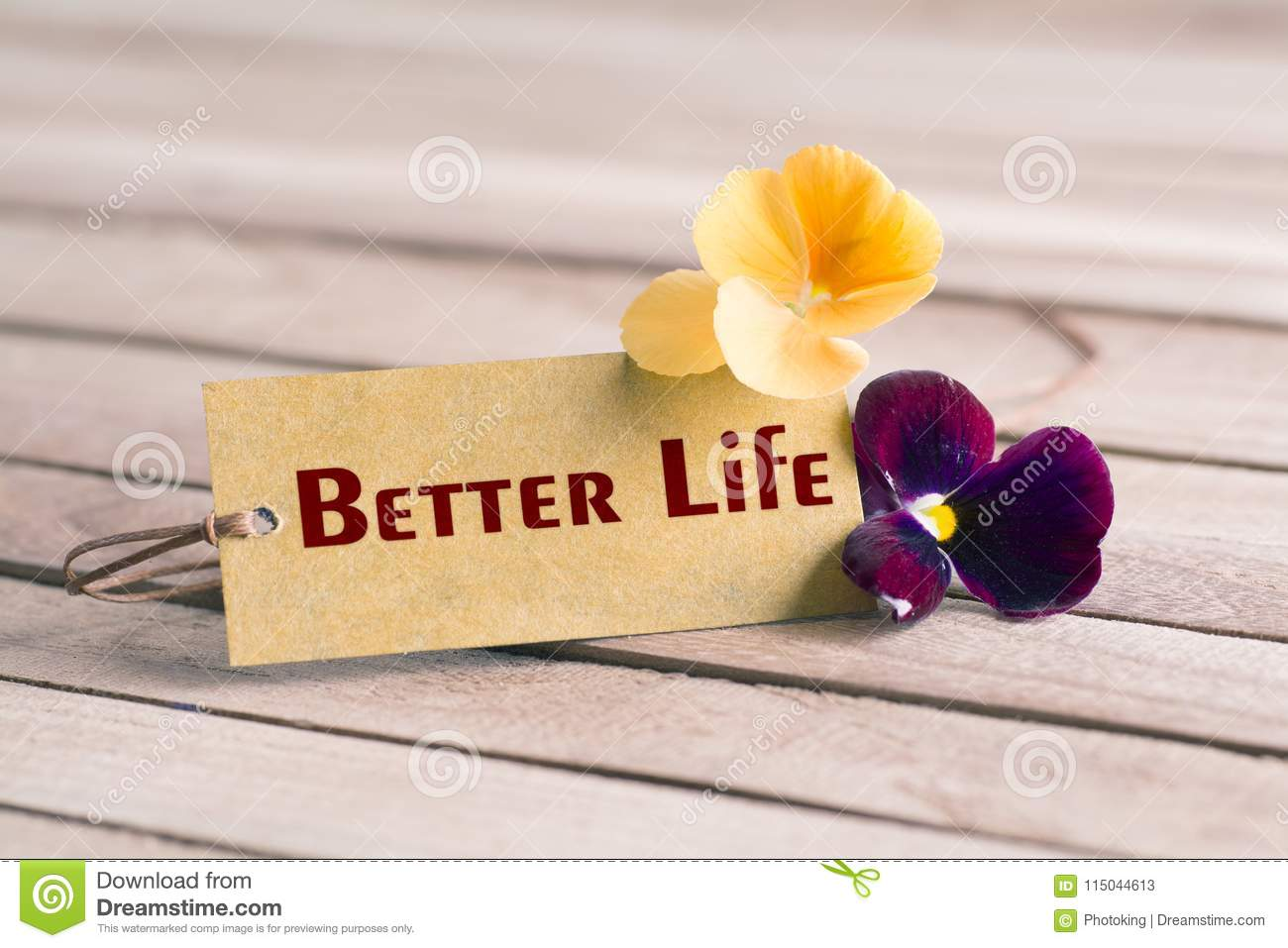 Better life tag