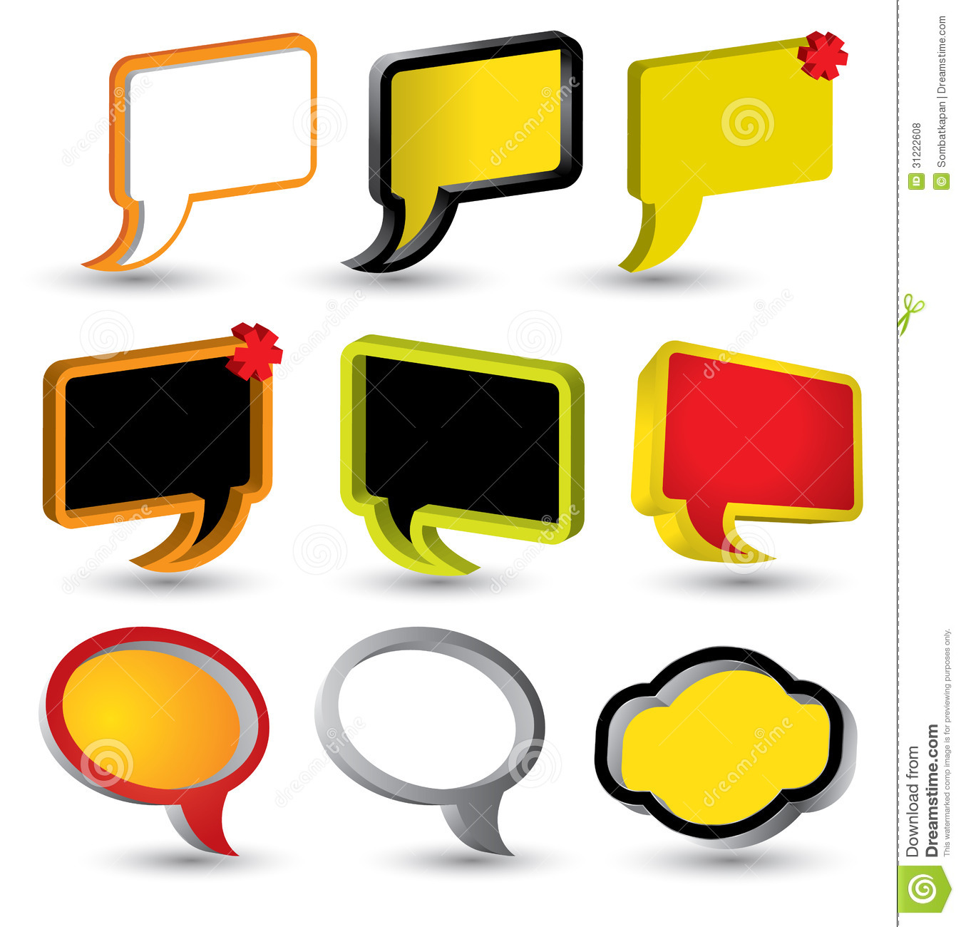 Tag Banner Speech Text Vector Stock Illustrations 15 191 Tag