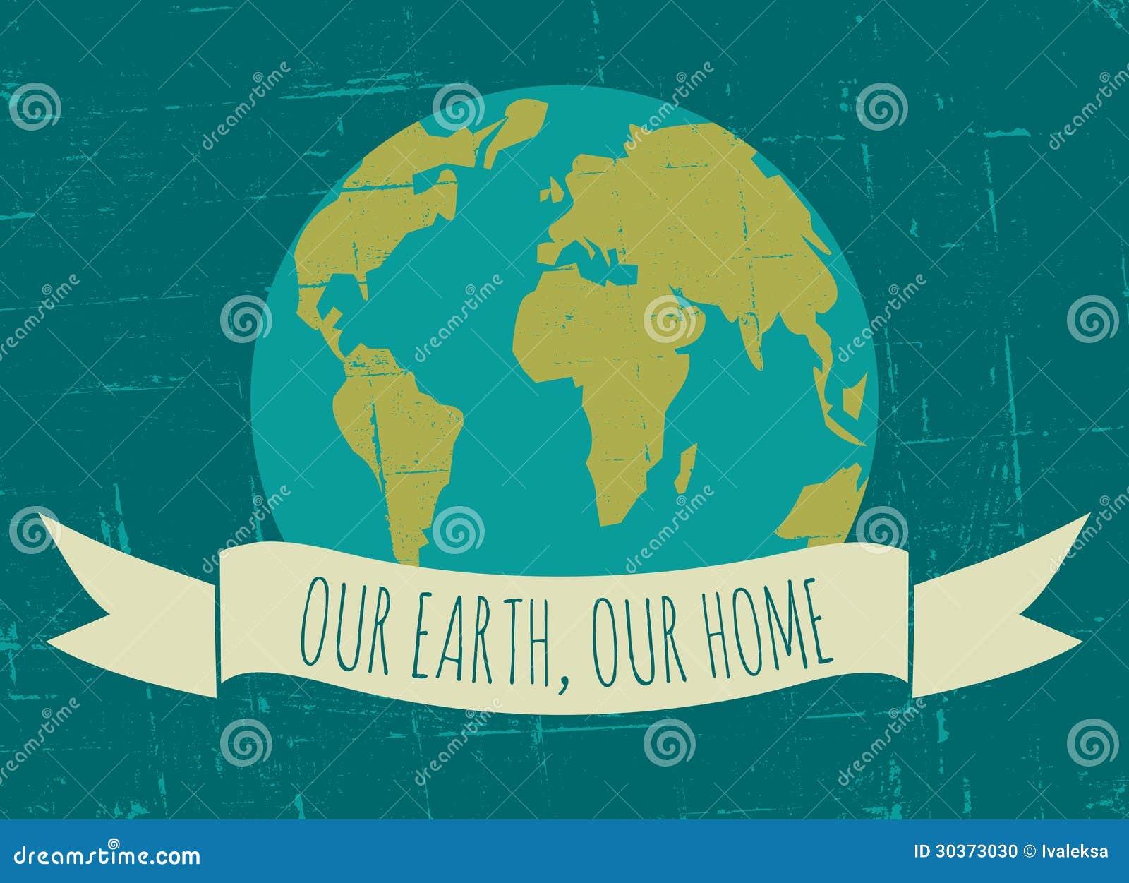 Tag der Erde-Plakat