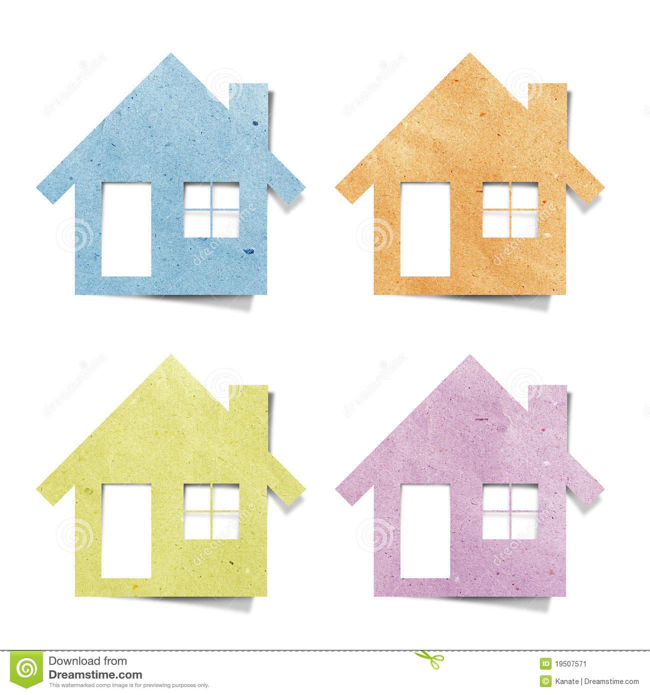 More similar stock images of ` Tag house recycled paper craft `