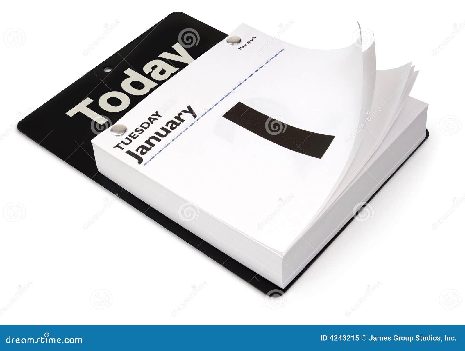 Tageskalender stockbild. Bild von fälle, kalender, pfad - 4243215