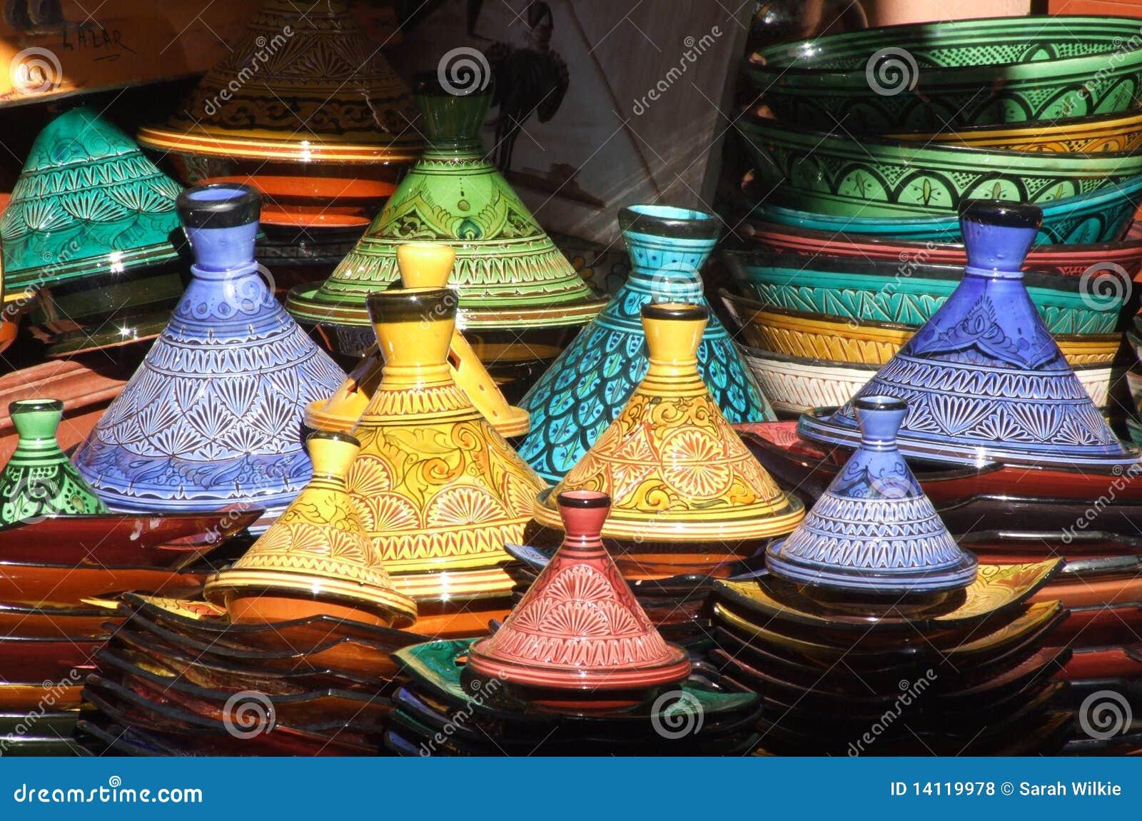 Tagine Potenziometer, Marrakesch souk