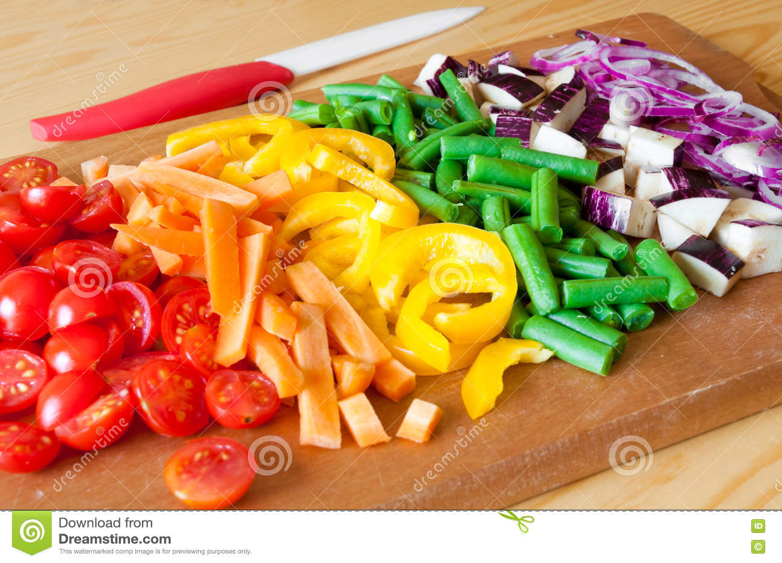 Tagli le verdure