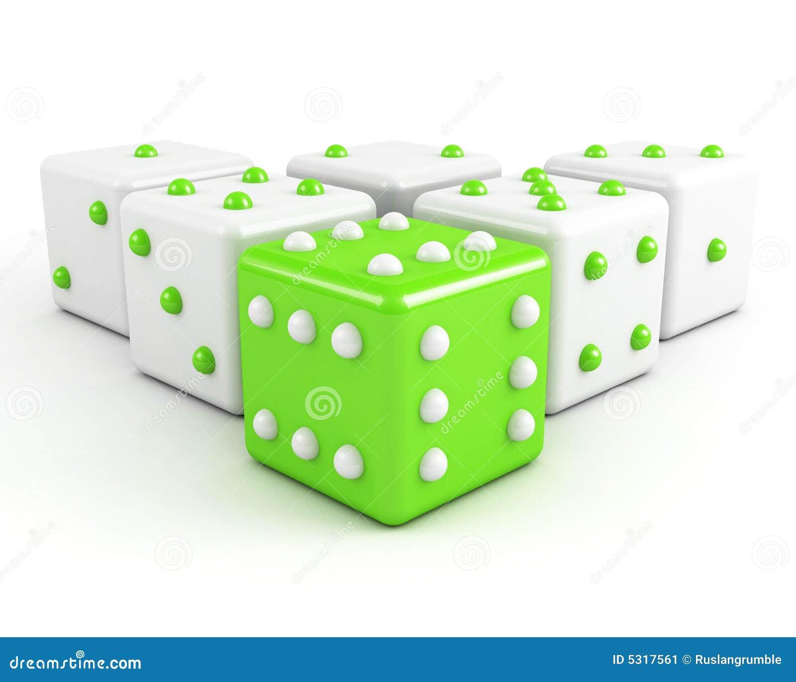 Download Taglia Il Concetto A Cubetti Di Conquista Di Direzione Illustrazione di Stock - Illustrazione di gioco, dimensionale: 5317561