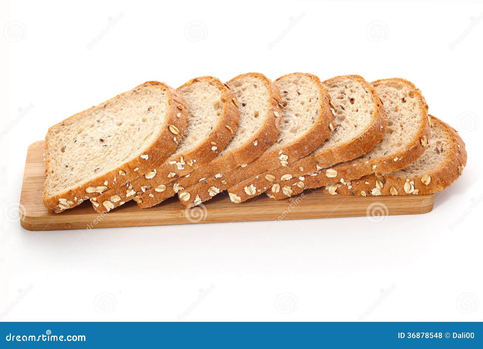 Download Taglio del pane fotografia stock. Immagine di cuocia - 36878548