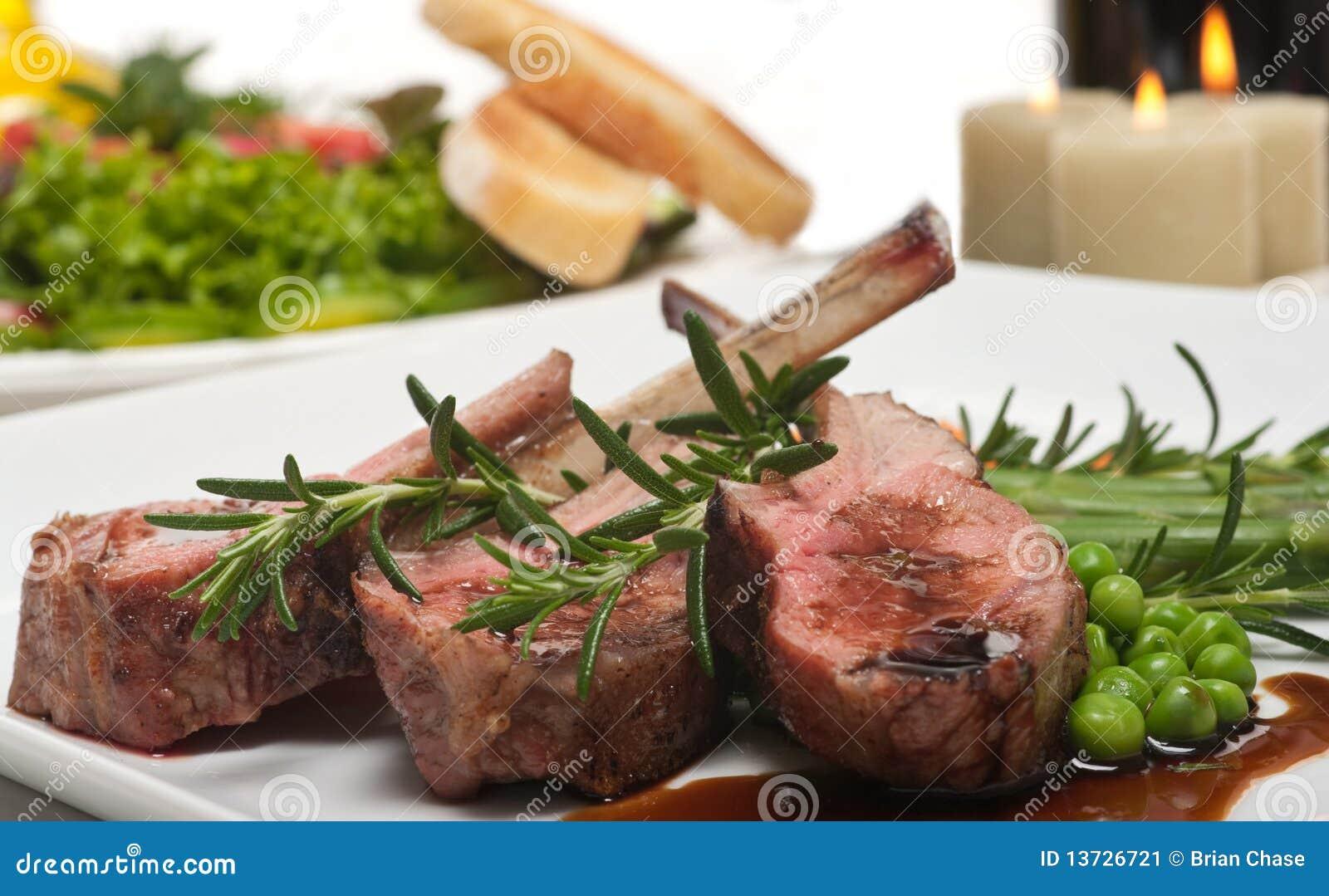 Taglio ed insalata di agnello immagine stock immagine di for Insalata da taglio