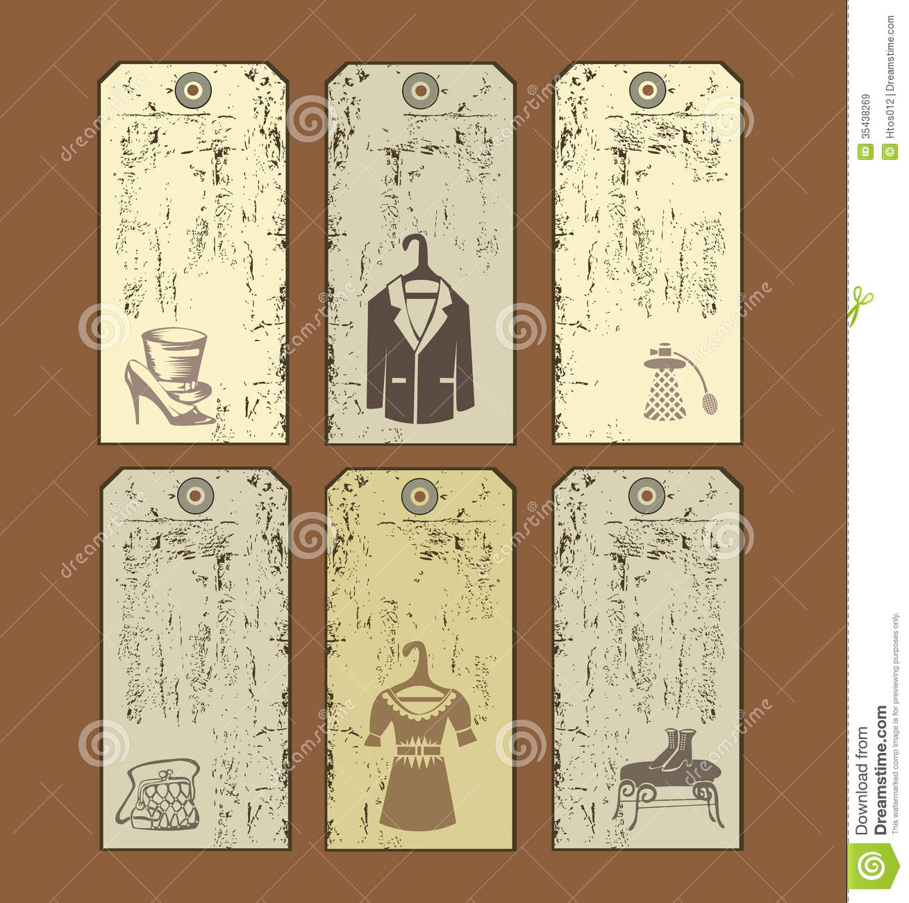 Tags for clothes royalty free stock images image 35438269
