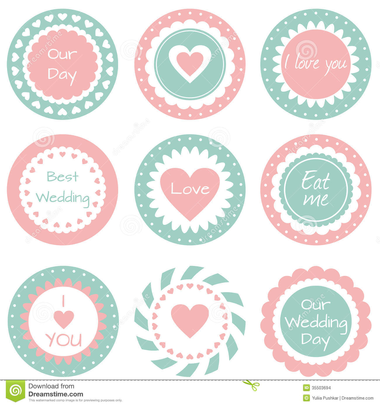 Tags For Wedding Stock Images Image 35503694