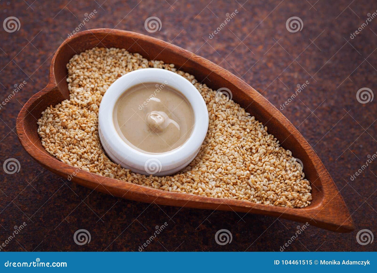 Tahini和芝麻籽