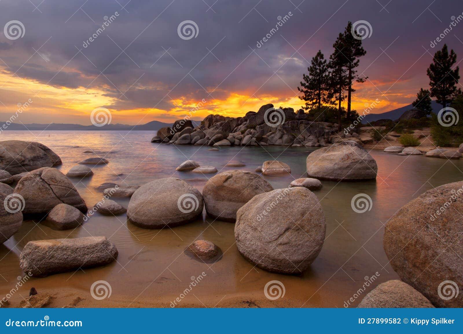 Tahoe Sunset 1