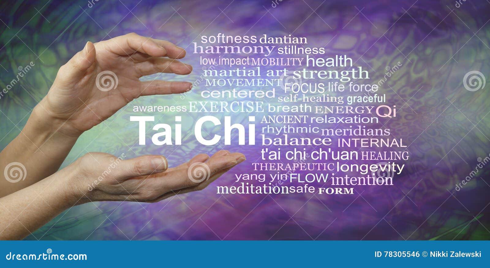Tai Chi Benefits Word Cloud