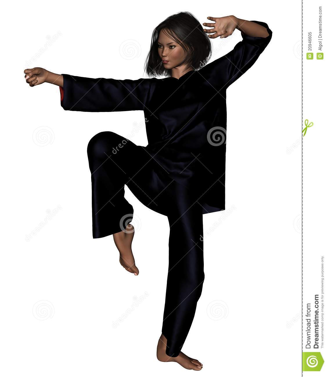 tai chi woman 2 royalty free stock photo image 20946605 Black and White Heart Clip Art Black and White Heart Clip Art