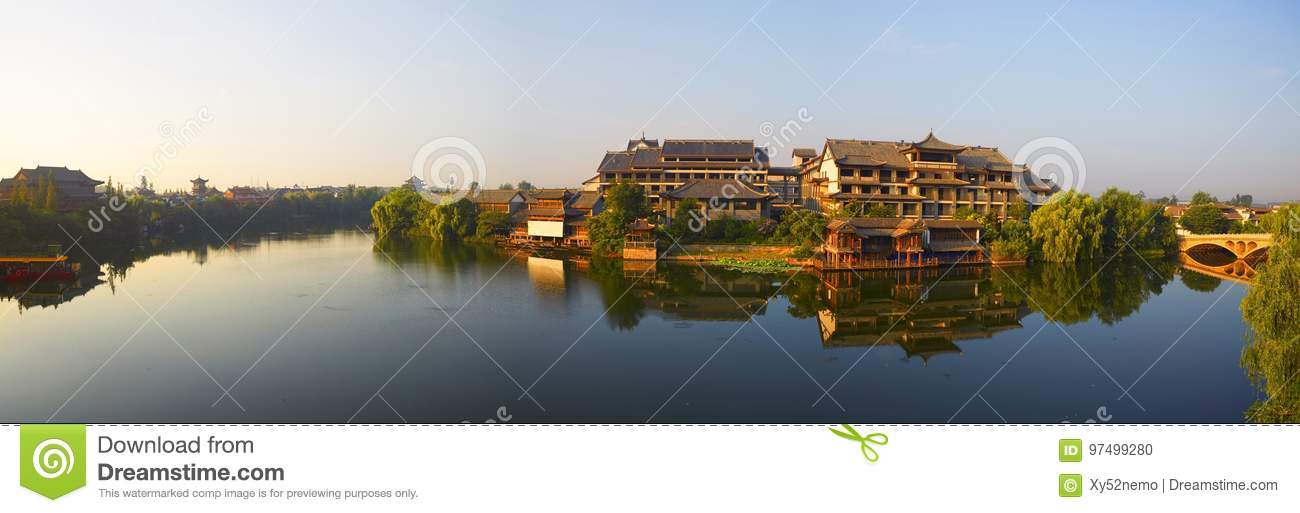 Taierzhuang Oude Stad, China