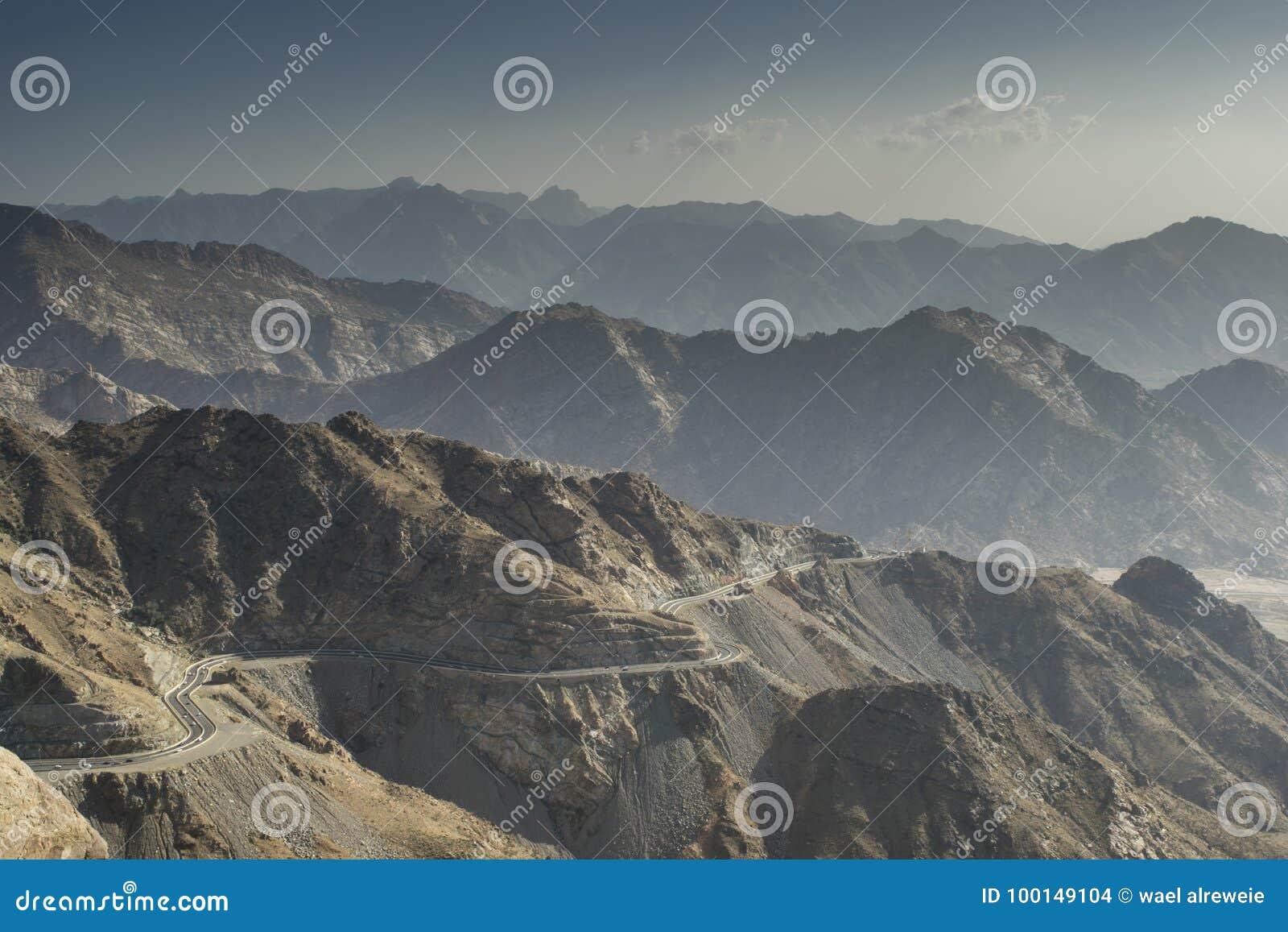 Taif-Berge in Saudi-Arabien