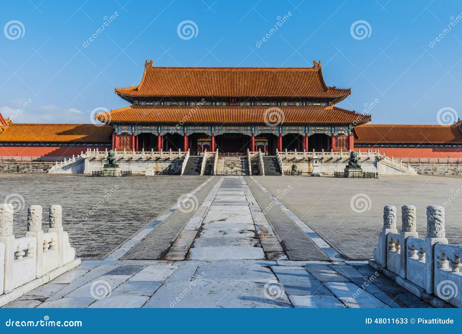Taihemen port av suveräna Harmony Imperial Palace Forbidden City