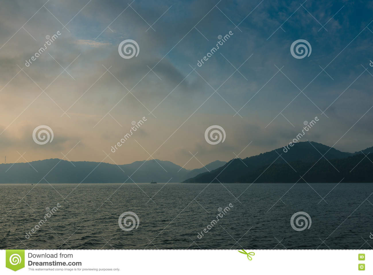 Taihu County Anqing City Anhui Huating Scenery Stock Photo