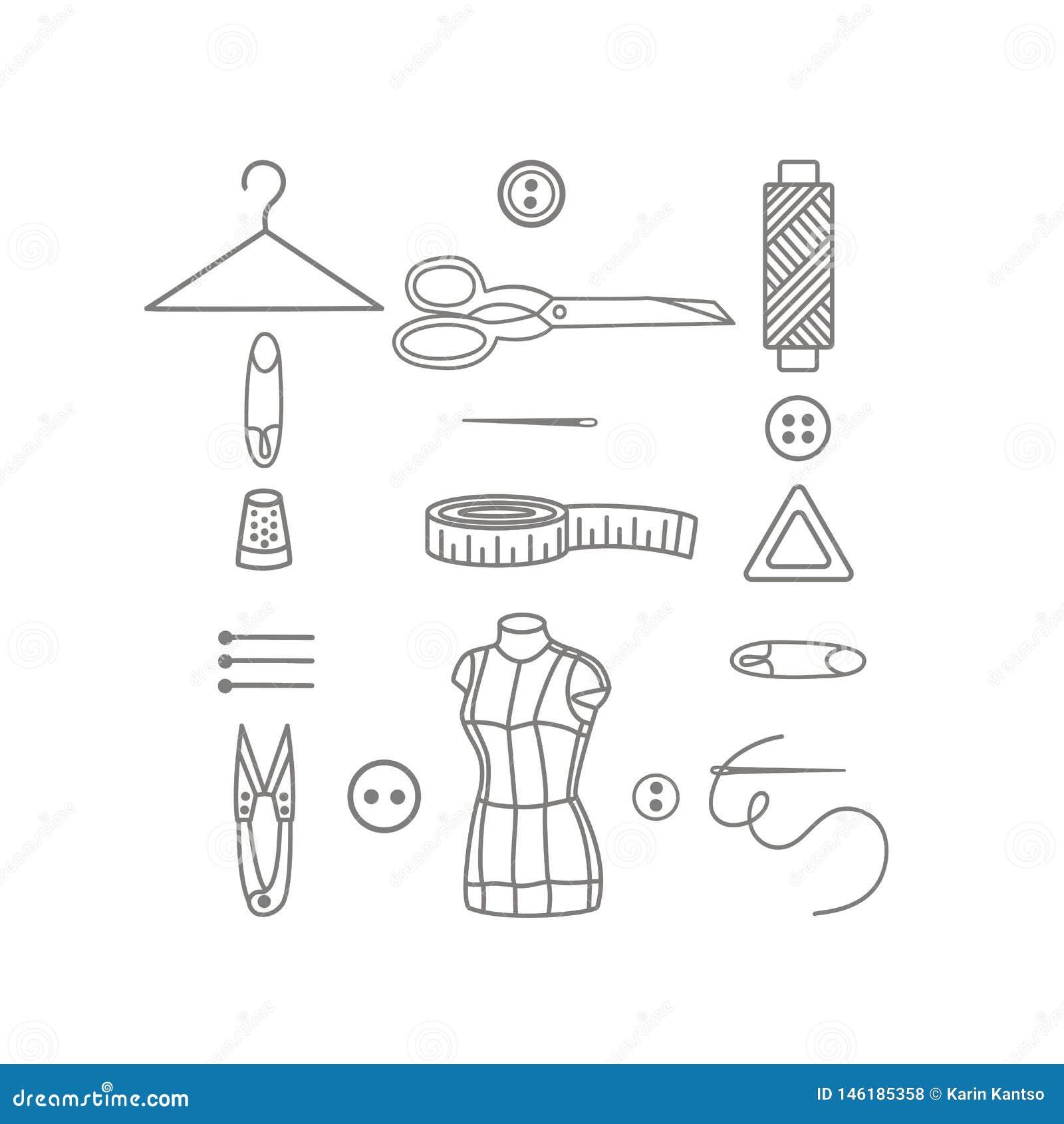 Tailleur Shop Icons